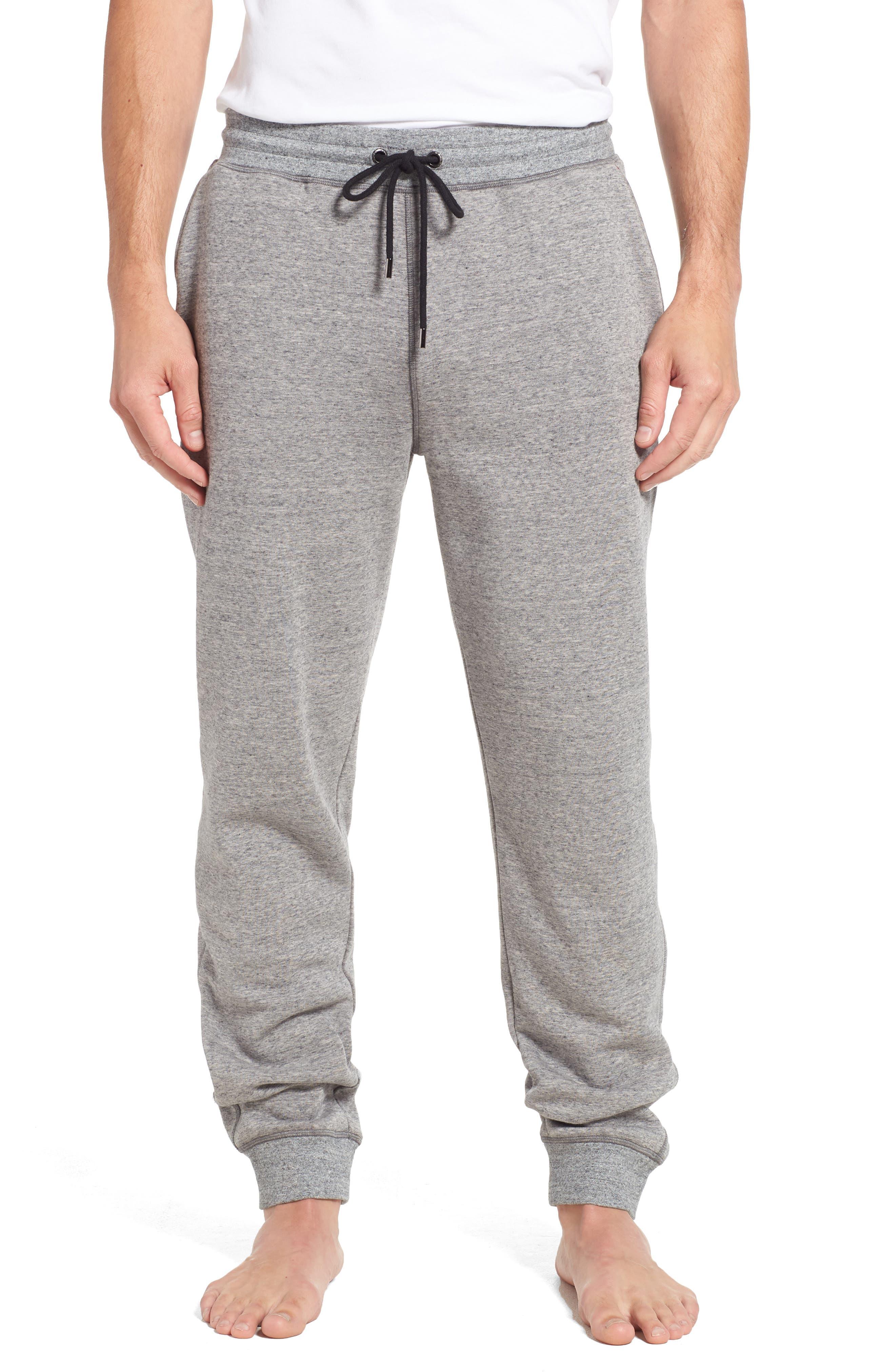 Lounge Pants,                         Main,                         color, GREY HEATHER