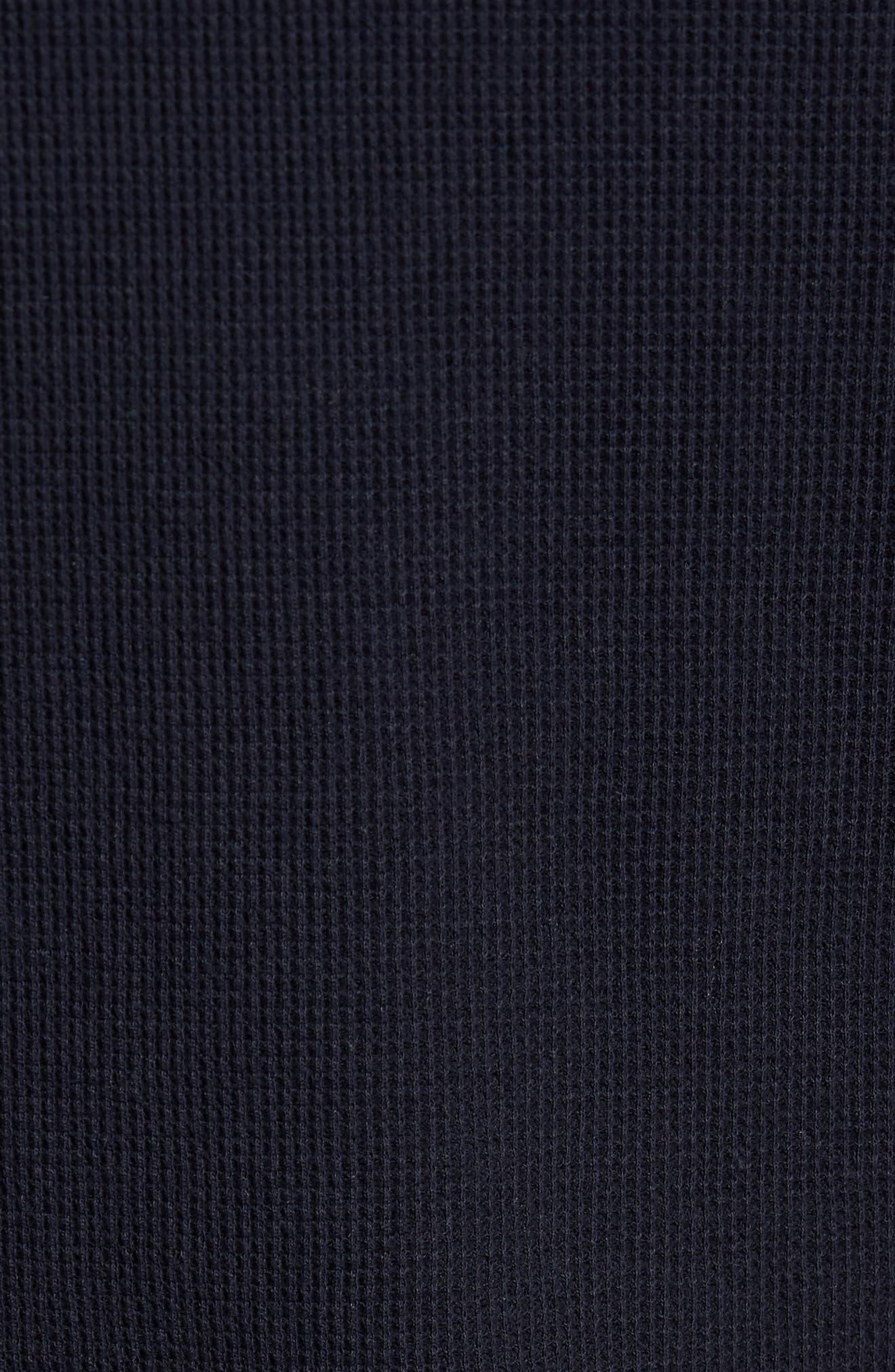 Thermal Knit Long Sleeve Henley T-Shirt,                             Alternate thumbnail 10, color,