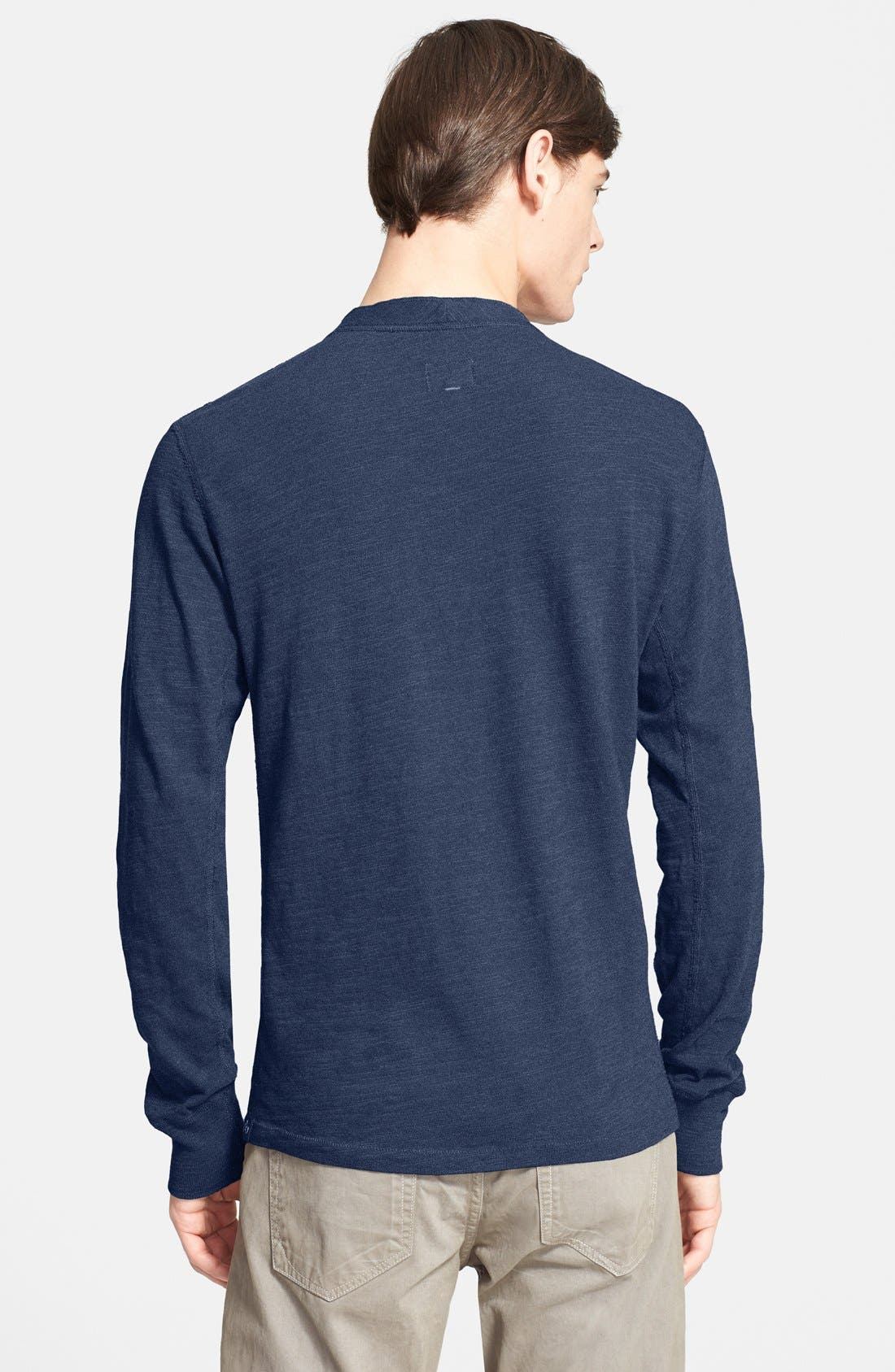 Standard Issue Slub Cotton Henley,                             Alternate thumbnail 23, color,