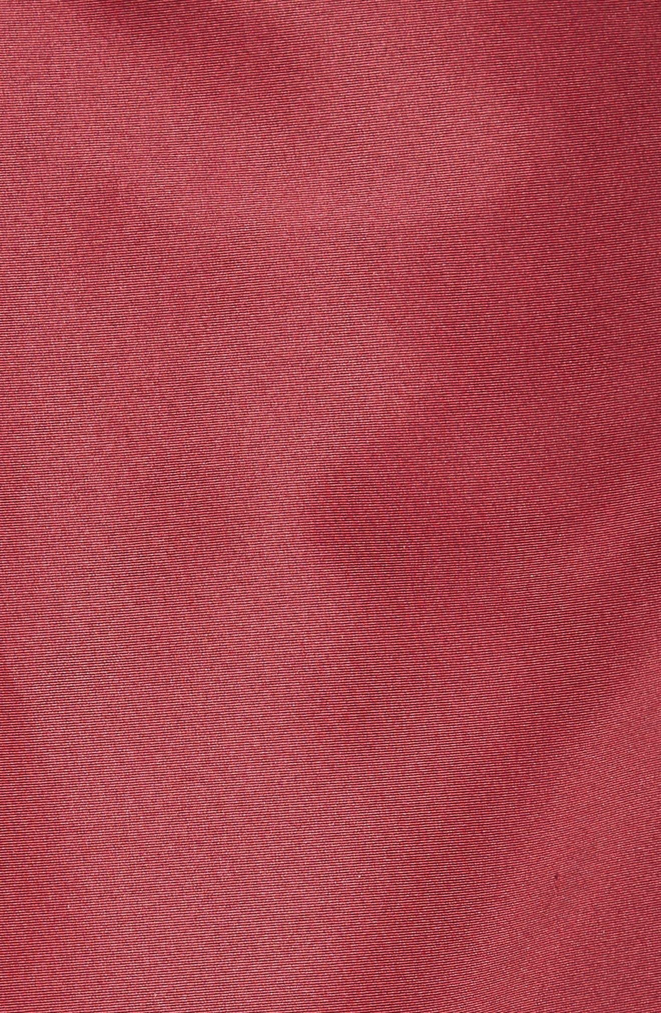 Beaded Silk Faille Gown,                             Alternate thumbnail 5, color,                             600