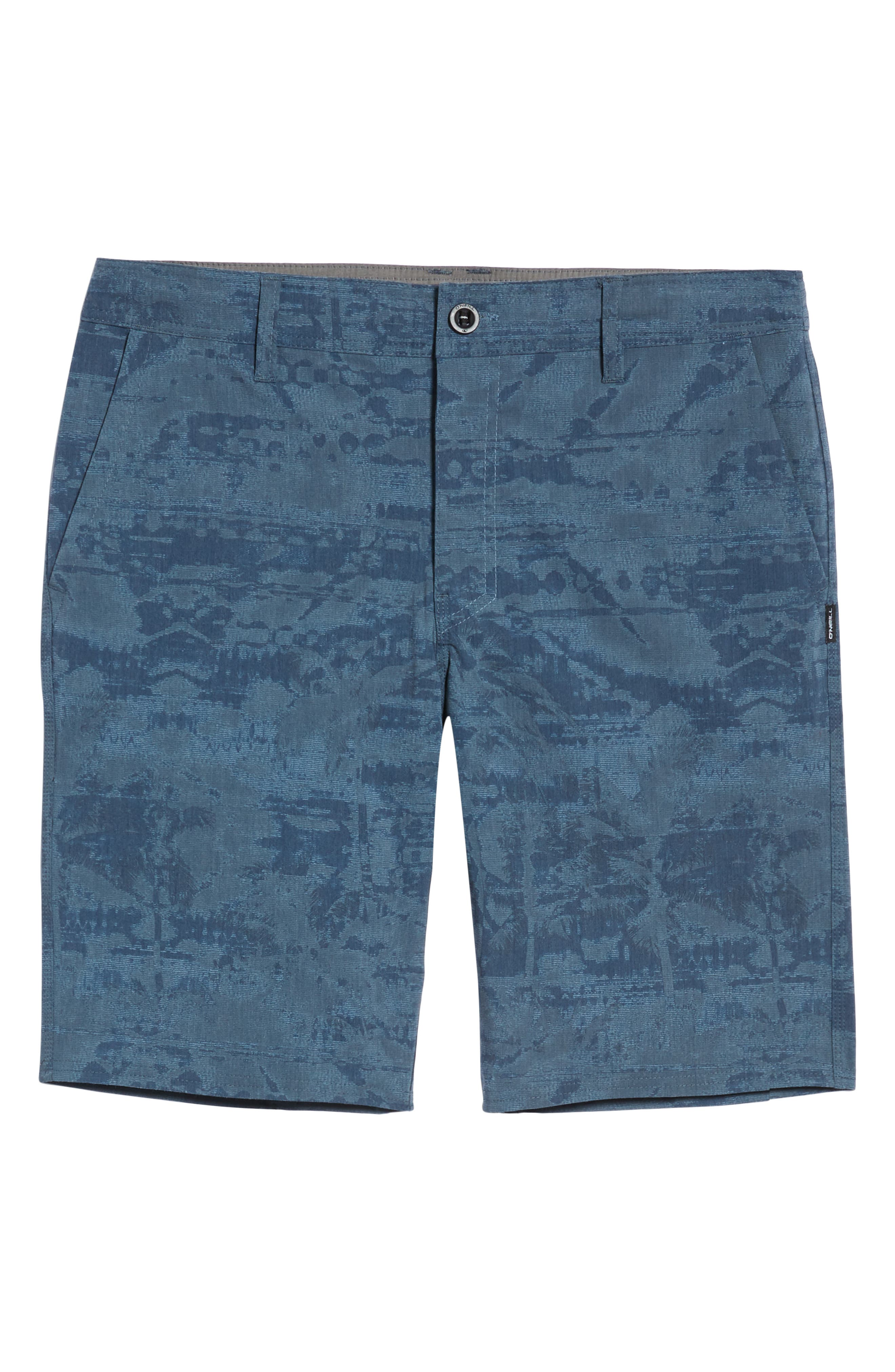 Mixed Hybrid Shorts,                             Alternate thumbnail 6, color,                             NAVY