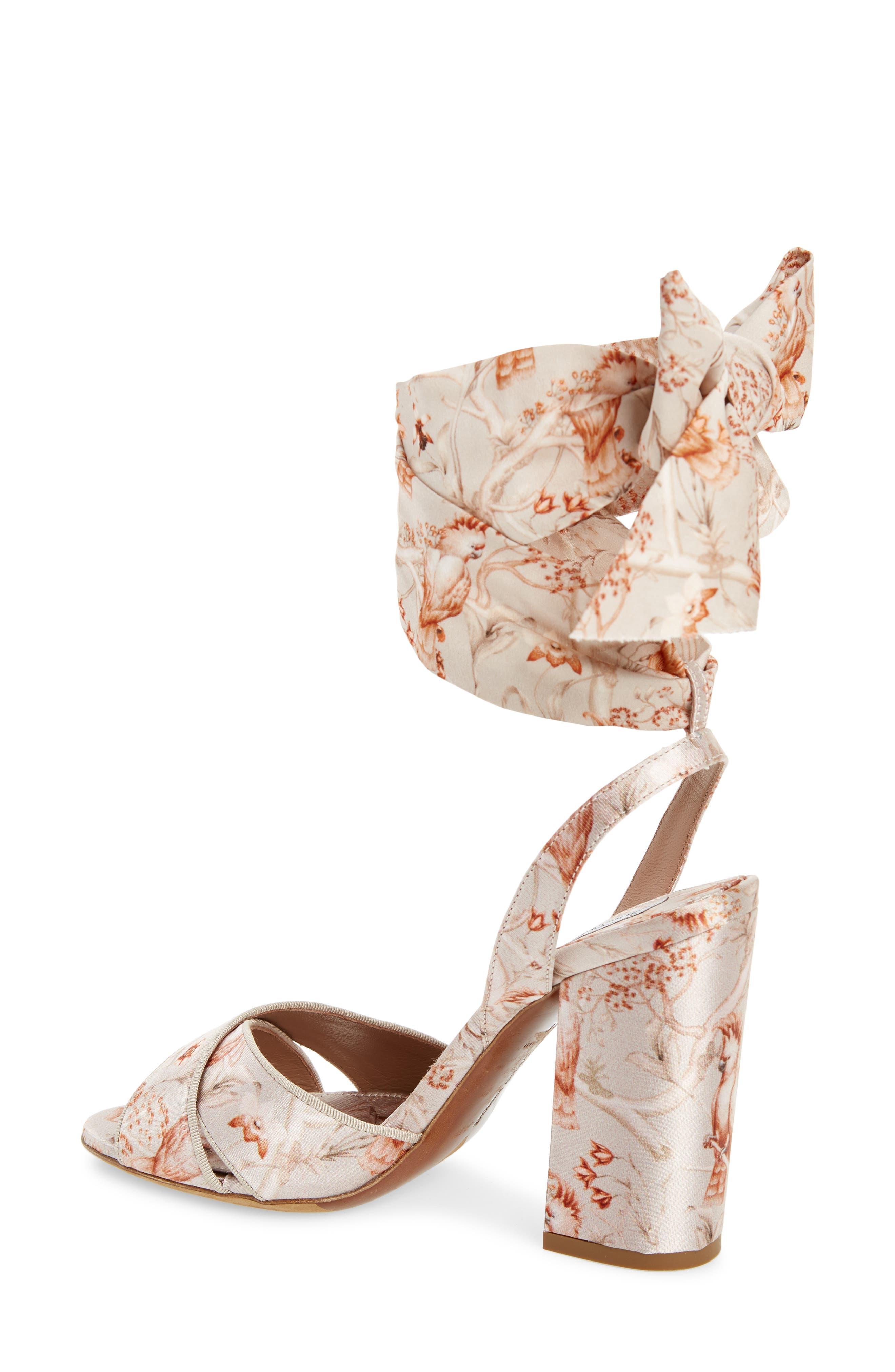Connie Wrap Lace-Up Sandal,                             Alternate thumbnail 2, color,                             SAND