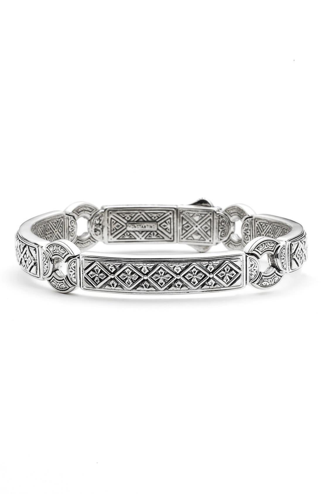 'Silver Classics' Bracelet,                         Main,                         color, 040
