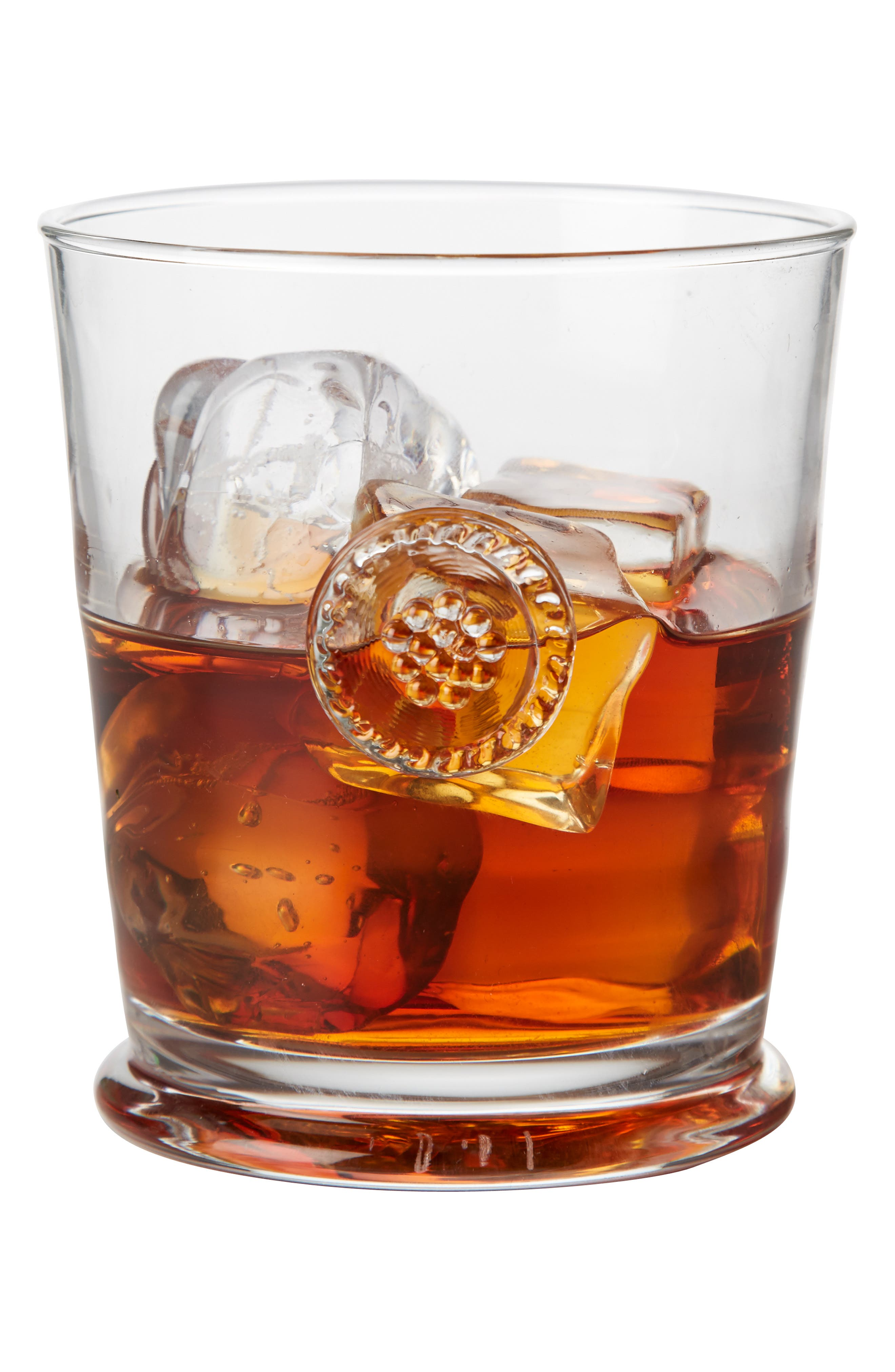 'Berry and Thread' Double Old Fashioned Glass,                             Alternate thumbnail 5, color,                             CLEAR