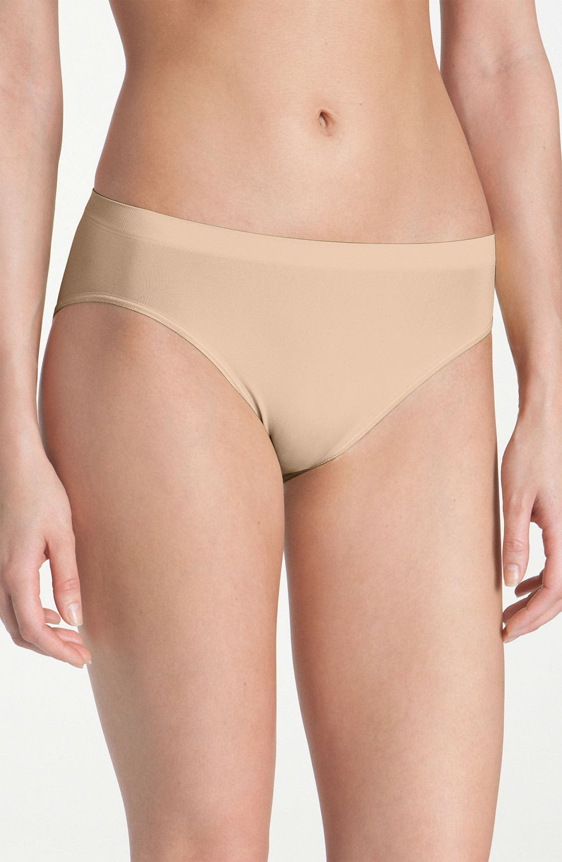 HANRO 'Touch Feeling' High Cut Briefs in Nude