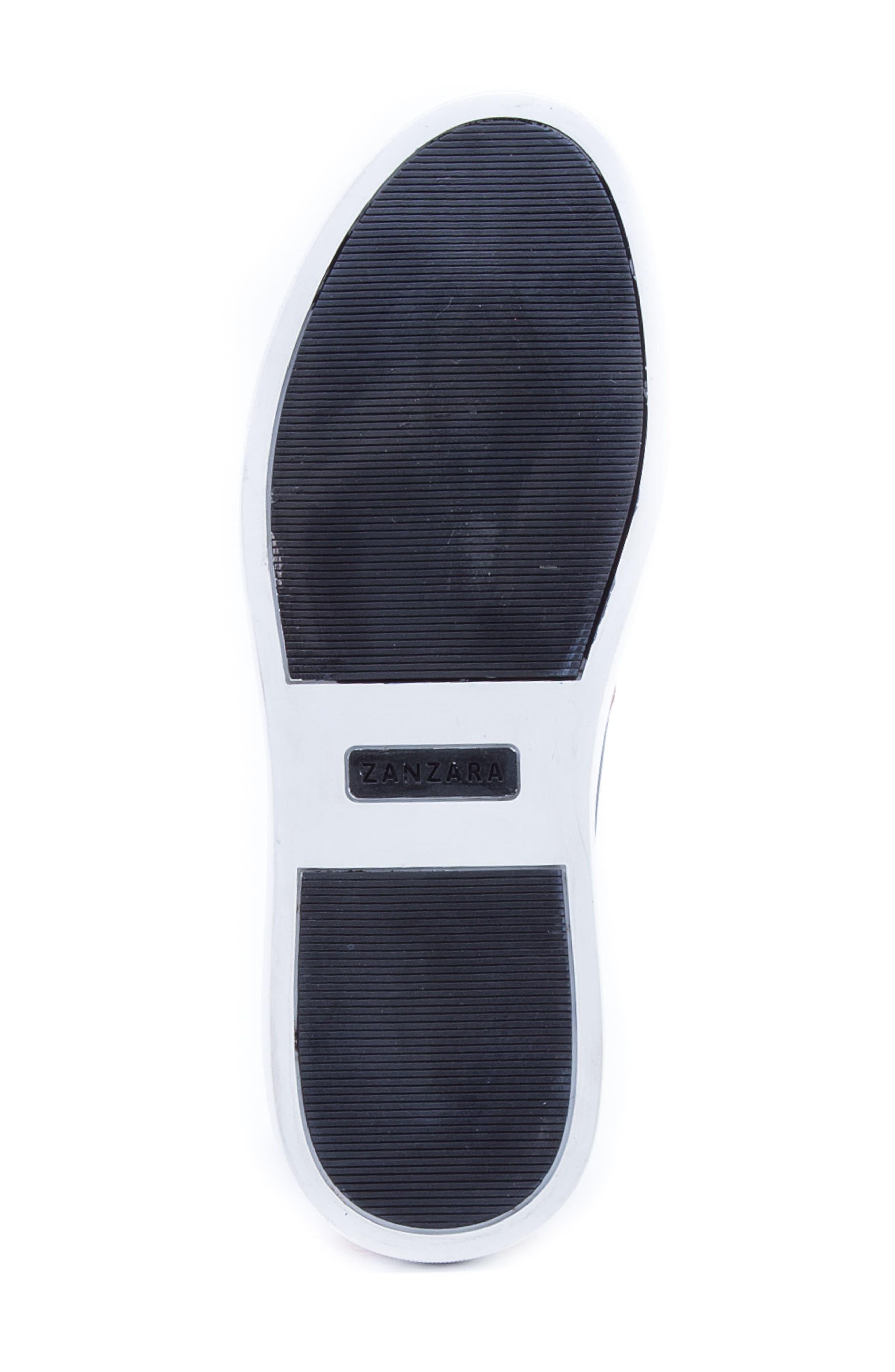 Rivera Colorblocked Slip-On Sneaker,                             Alternate thumbnail 6, color,                             COGNAC SUEDE