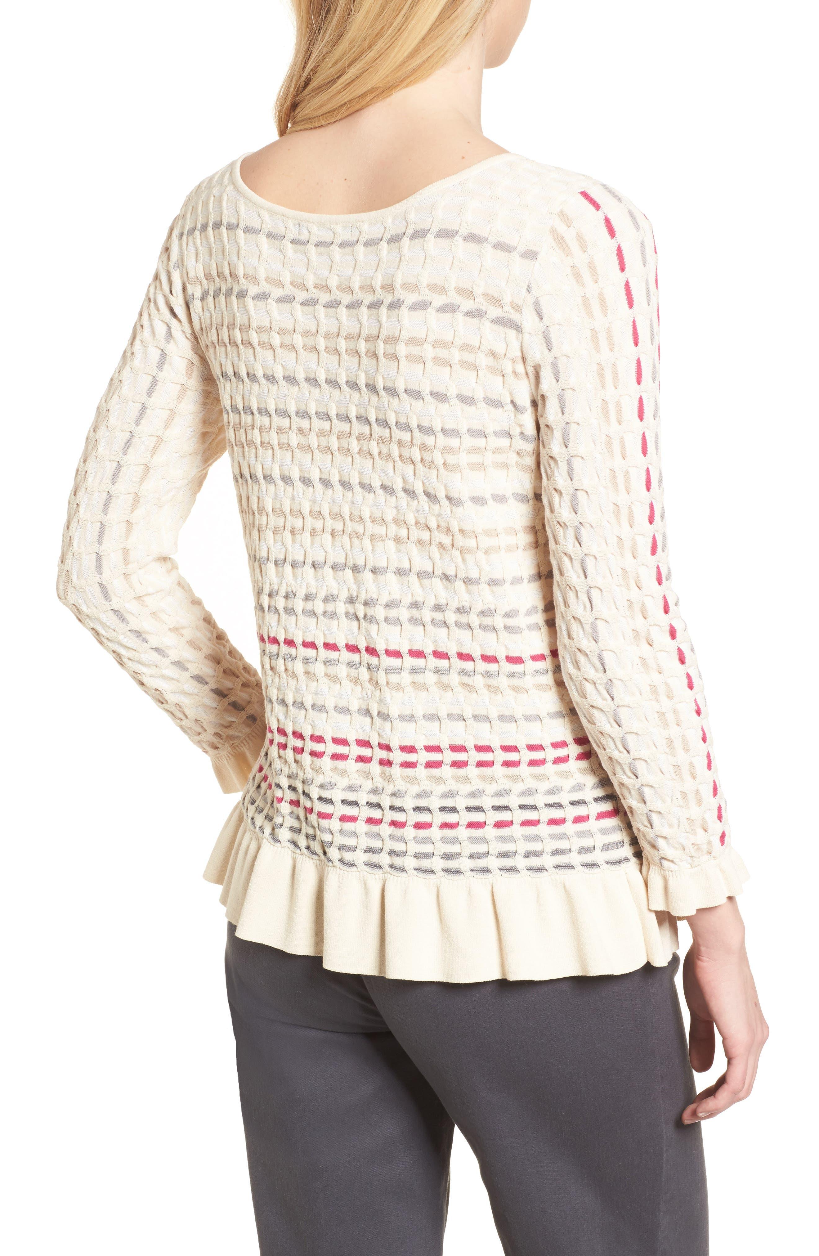 Saffron Stitch Sweater,                             Alternate thumbnail 2, color,