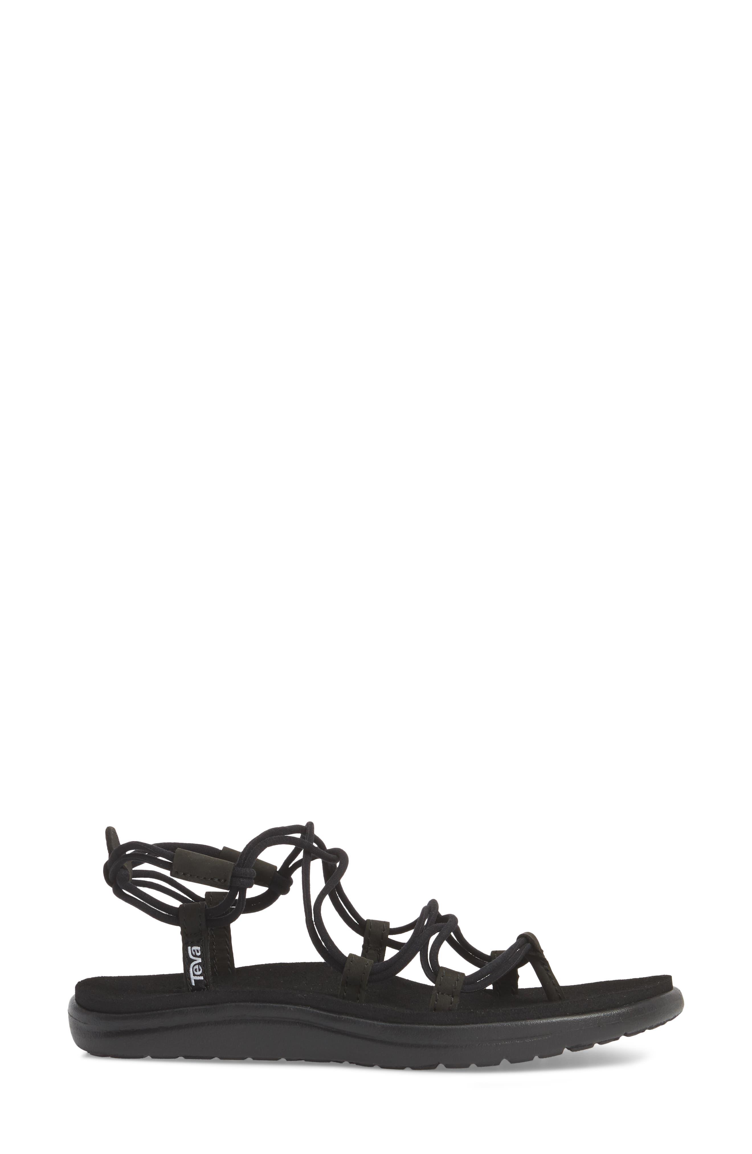 Voya Infinity Sandal,                             Alternate thumbnail 3, color,                             001