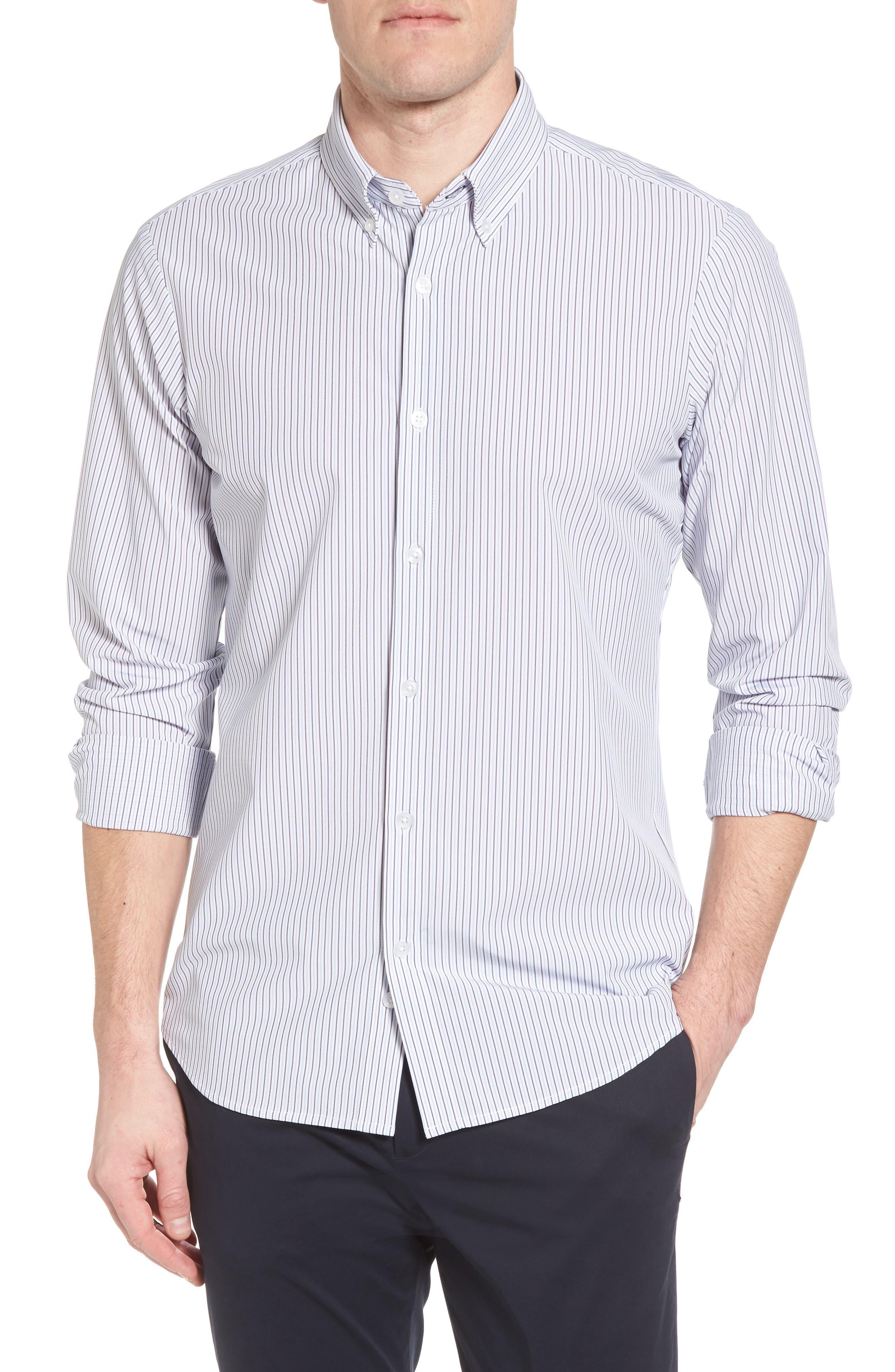Callahan Stripe Sport Shirt,                             Main thumbnail 1, color,                             477