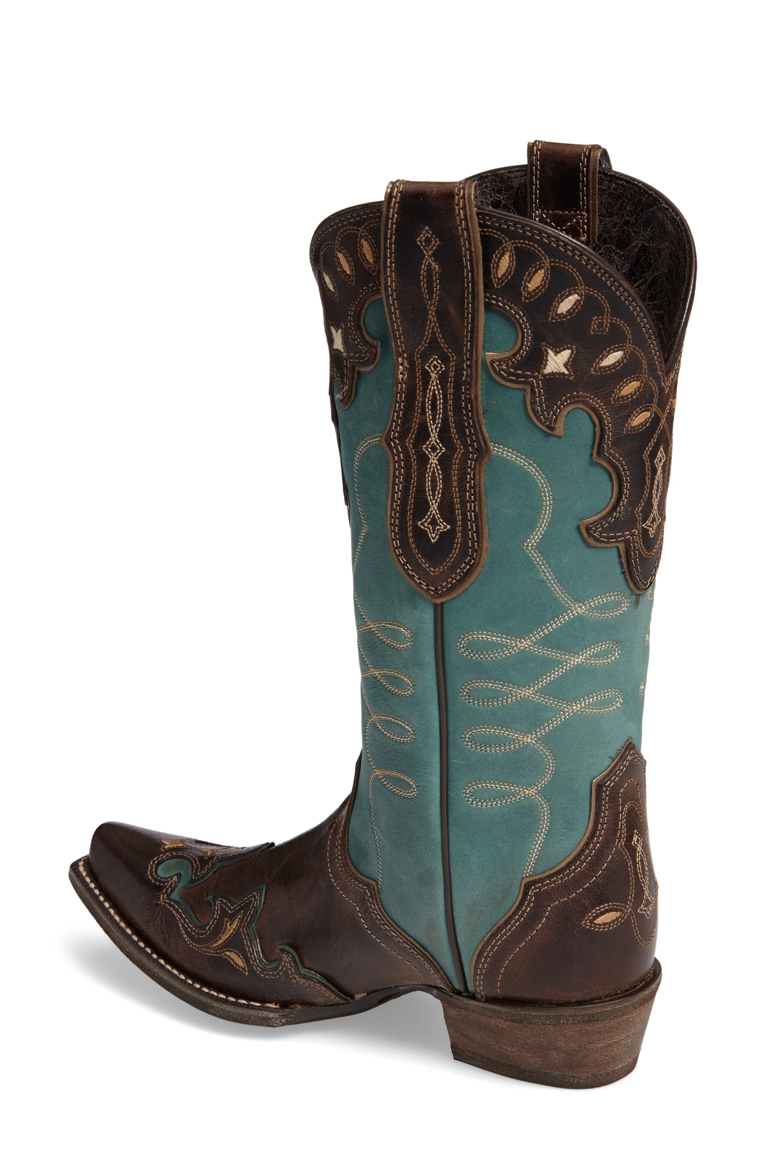 Zealous Wingtip Western Boot,                             Alternate thumbnail 2, color,                             200