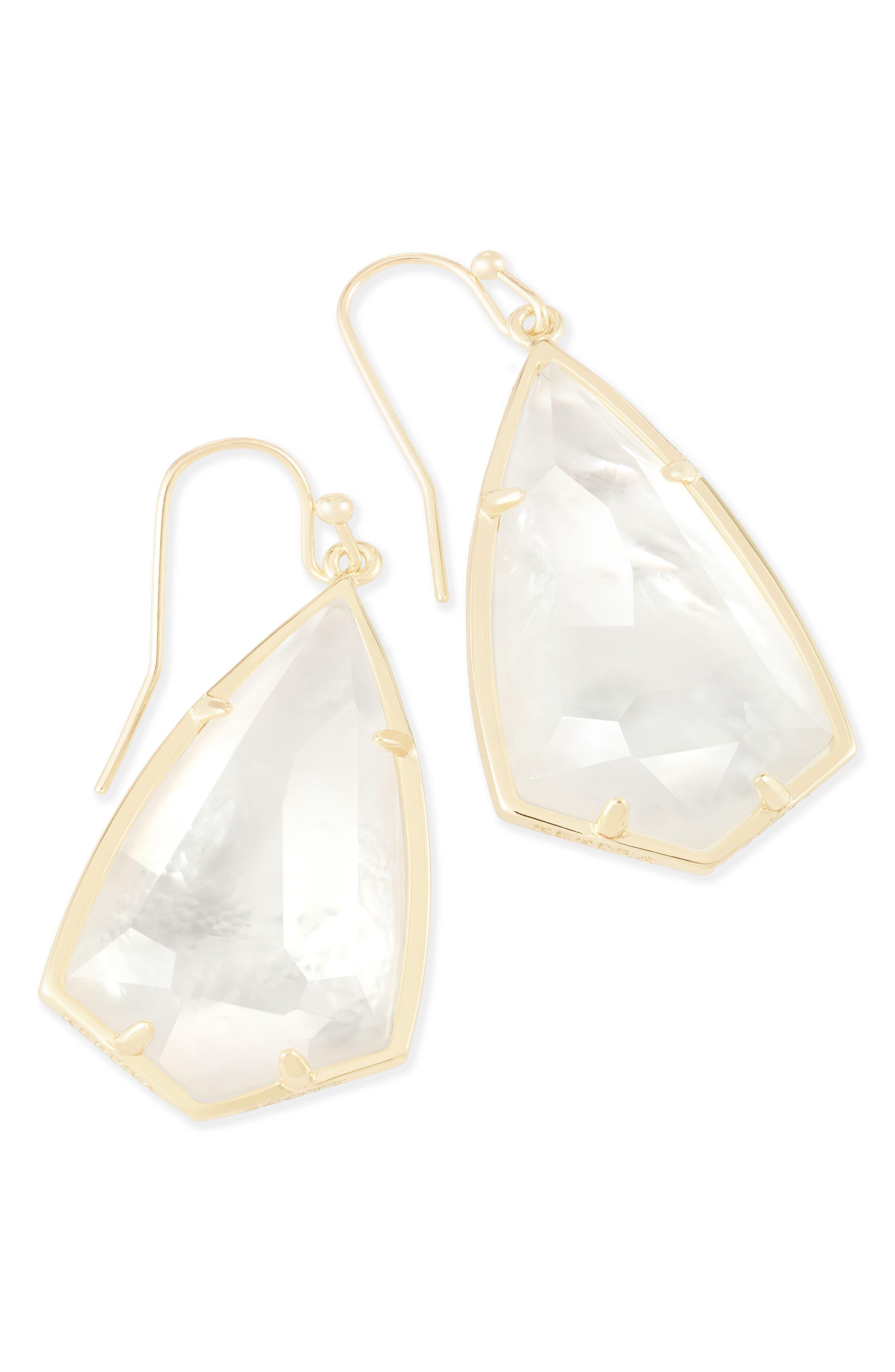 Carla Semiprecious Stone Drop Earrings,                             Alternate thumbnail 25, color,