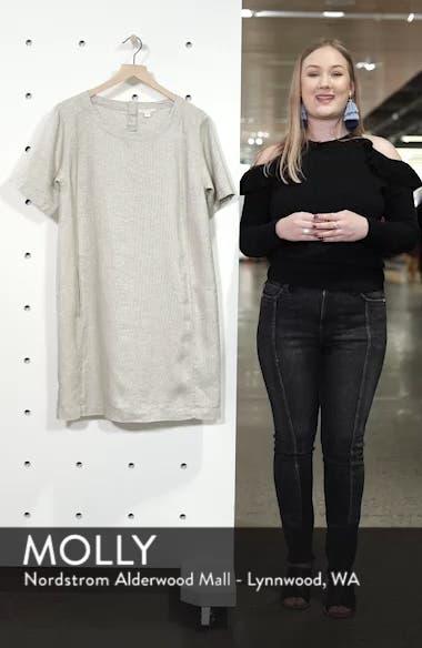 Scoop Neck Linen Blend Dress, sales video thumbnail
