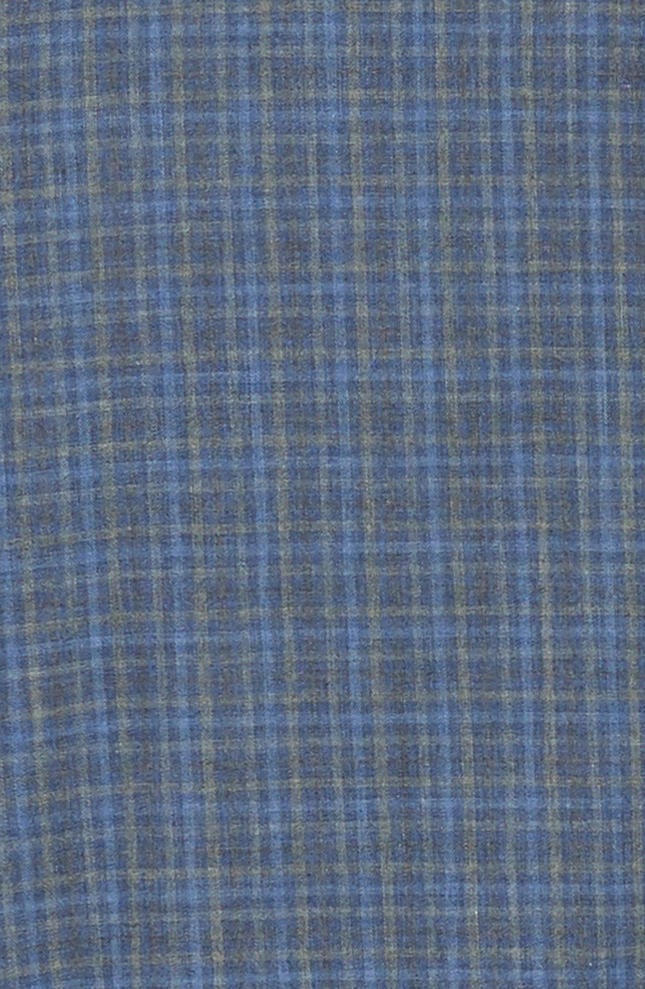 Nguyen Regular Fit Sport Shirt,                             Alternate thumbnail 6, color,                             DARK BLUE