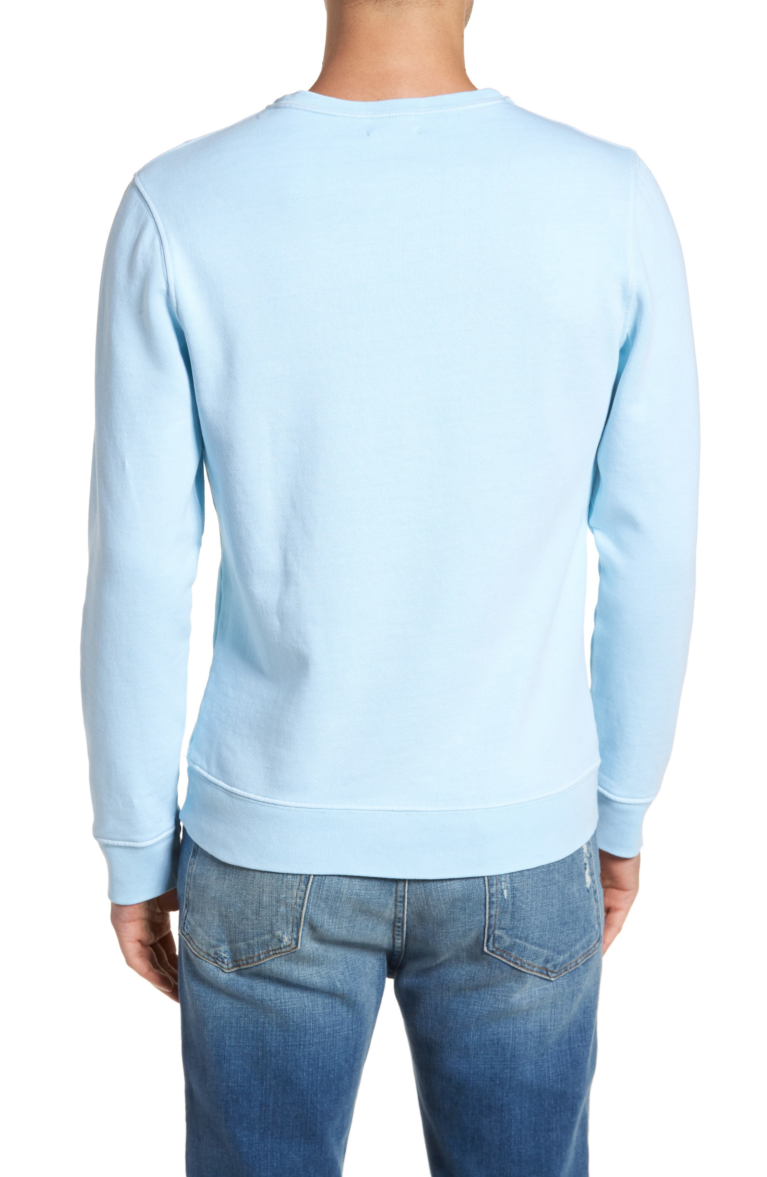 Vintage Crewneck Sweatshirt,                             Alternate thumbnail 2, color,                             400