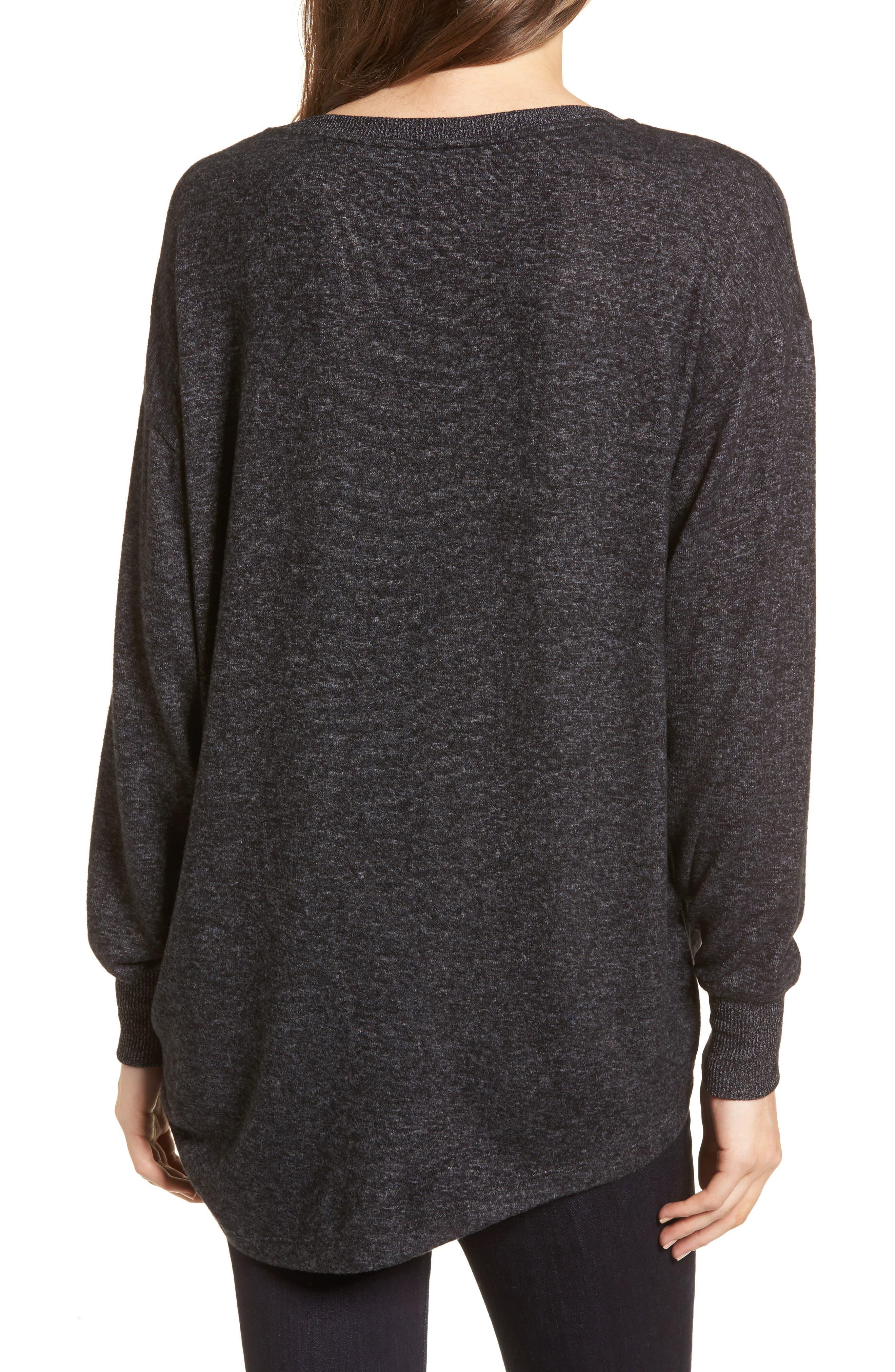 Side Cinch Sweatshirt,                             Alternate thumbnail 3, color,