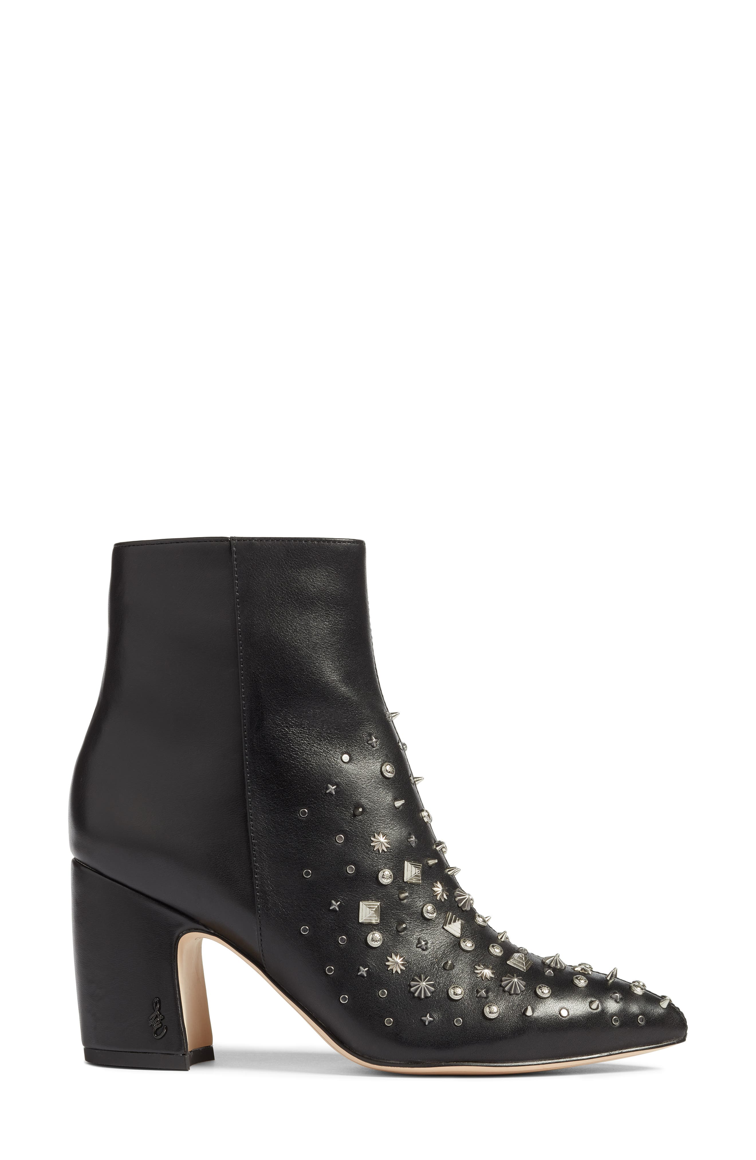 Hal Studded Bootie,                             Alternate thumbnail 3, color,                             001