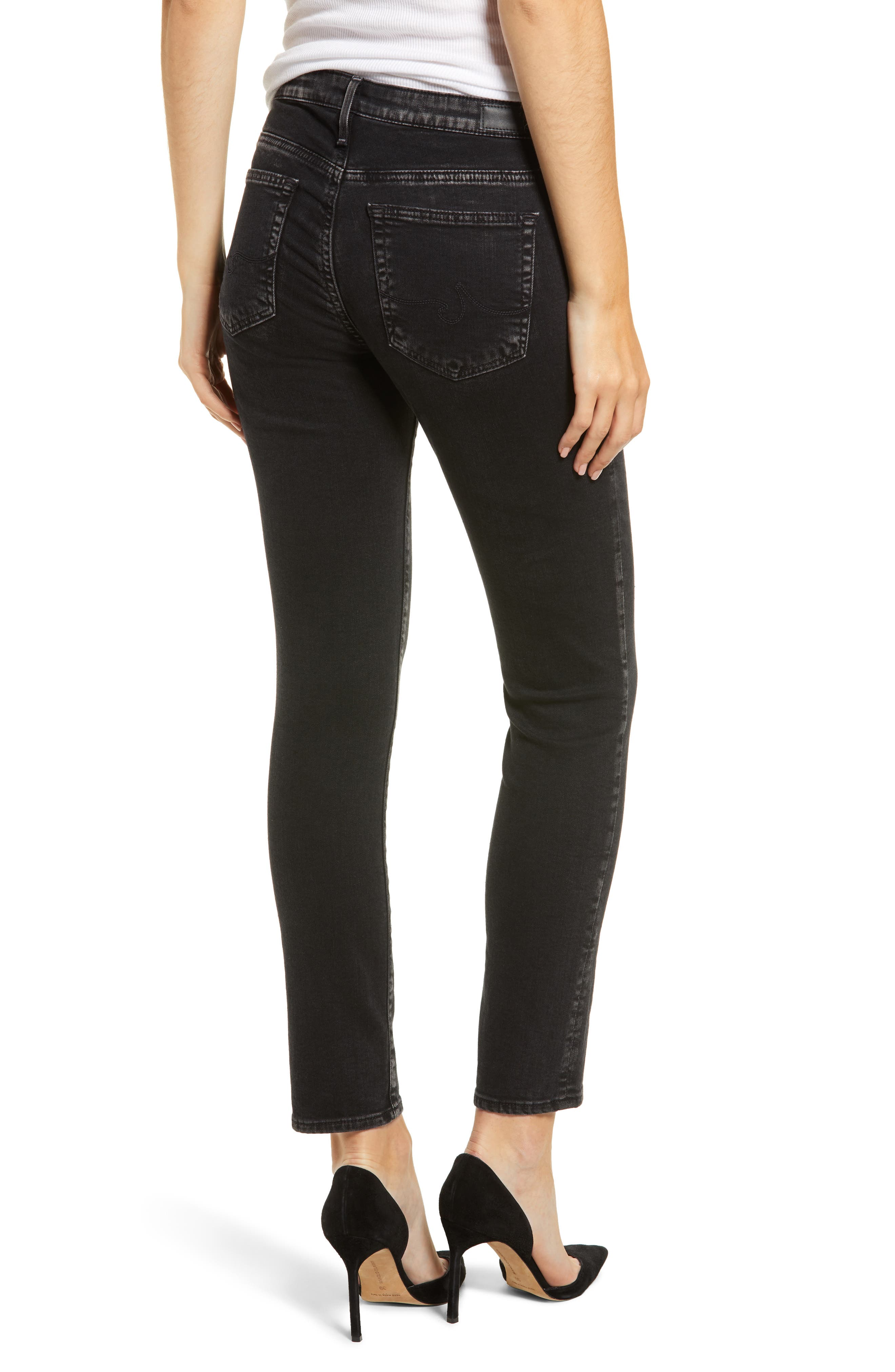 The Legging Ankle Super Skinny Jeans,                             Alternate thumbnail 2, color,                             ACRIMONY
