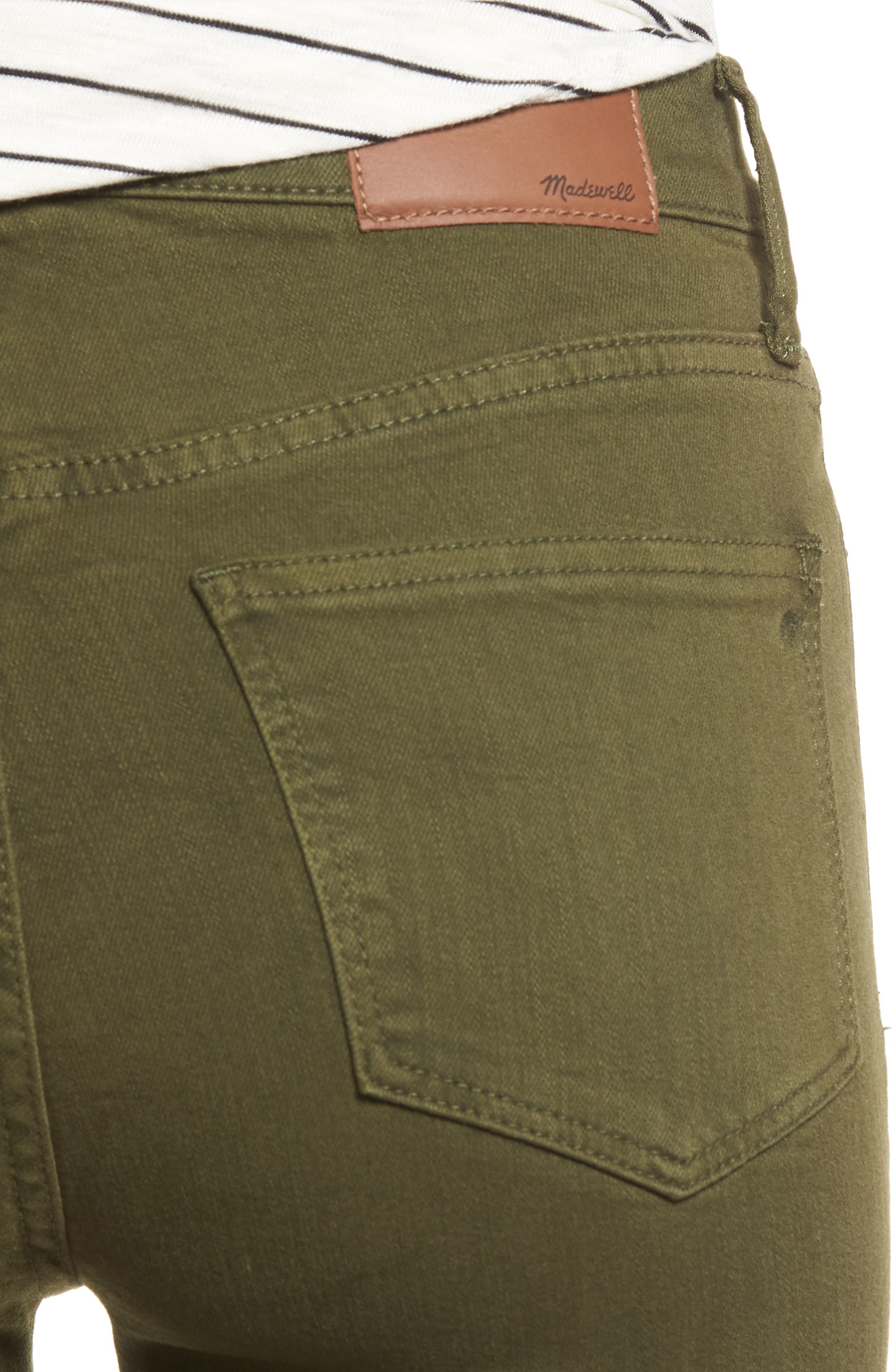 High Waist Skinny Jeans,                             Alternate thumbnail 4, color,                             300