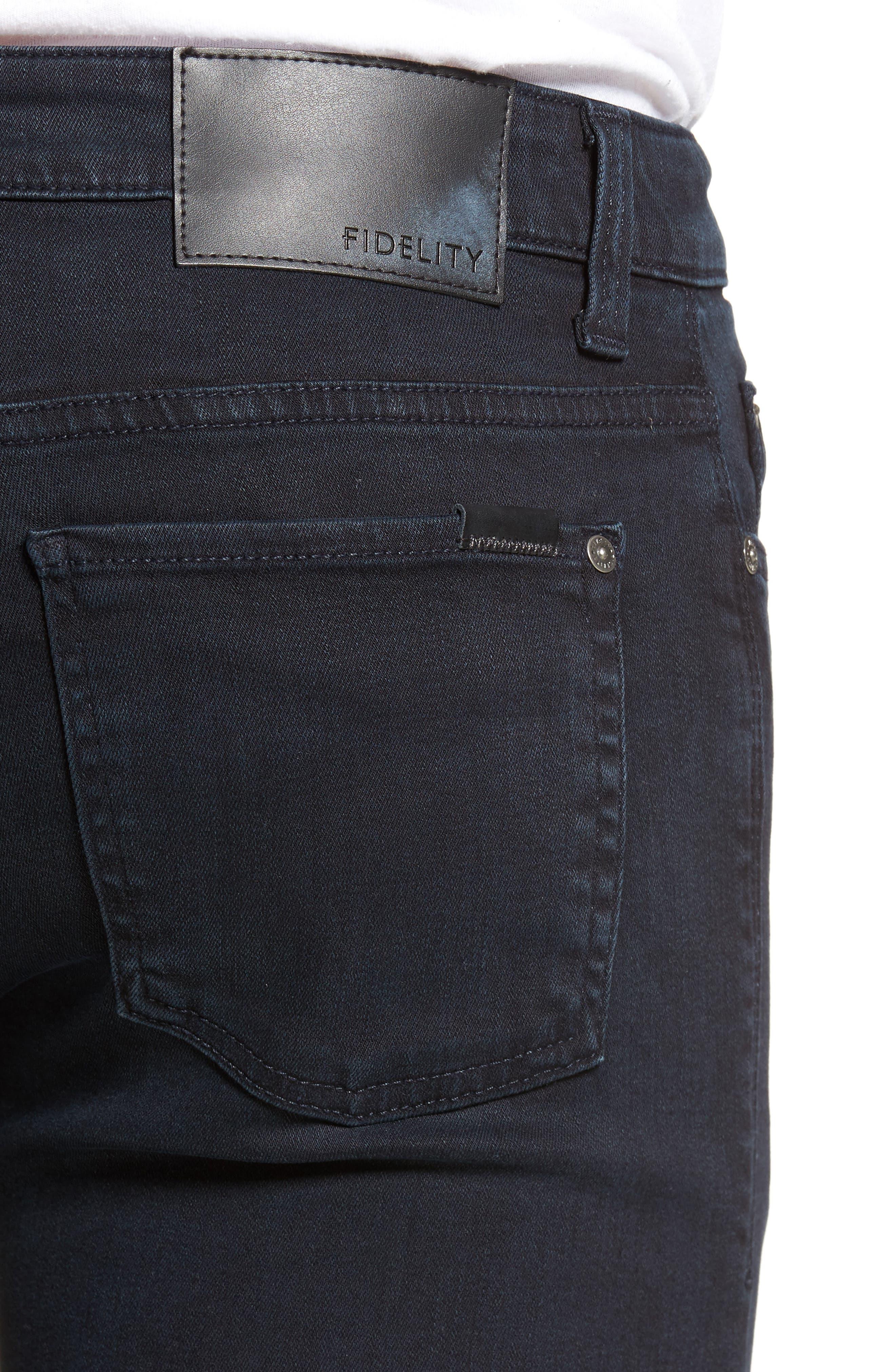 Impala Straight Leg Jeans,                             Alternate thumbnail 4, color,                             400
