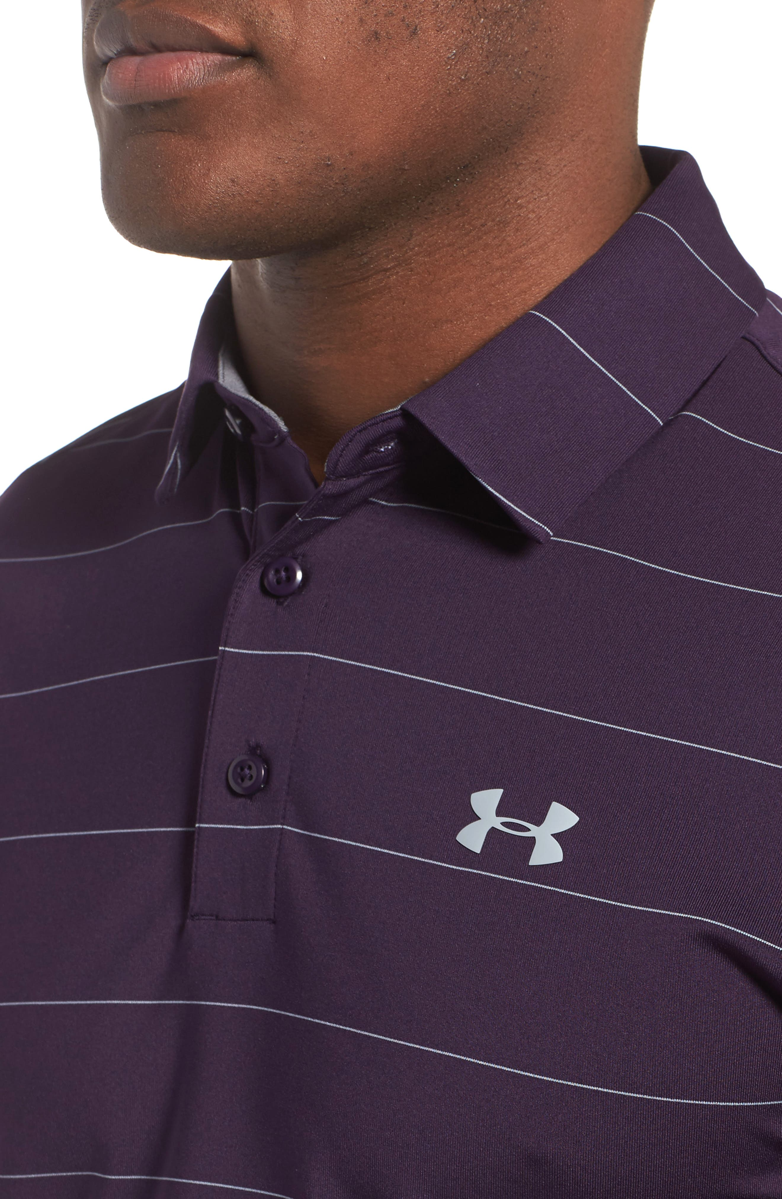 'Playoff' Loose Fit Short Sleeve Polo,                             Alternate thumbnail 221, color,