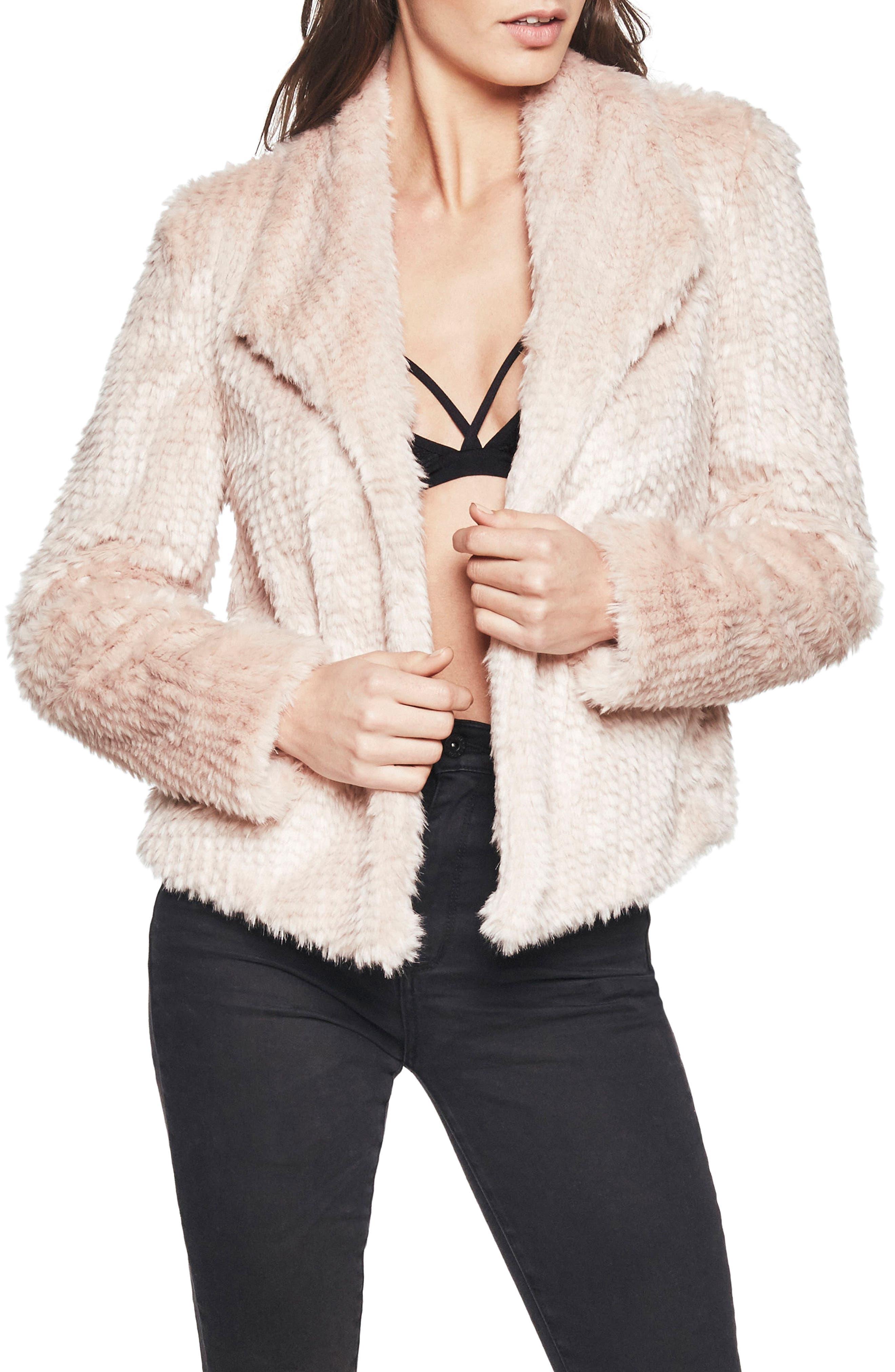 Faux Fur Jacket,                             Main thumbnail 1, color,                             685