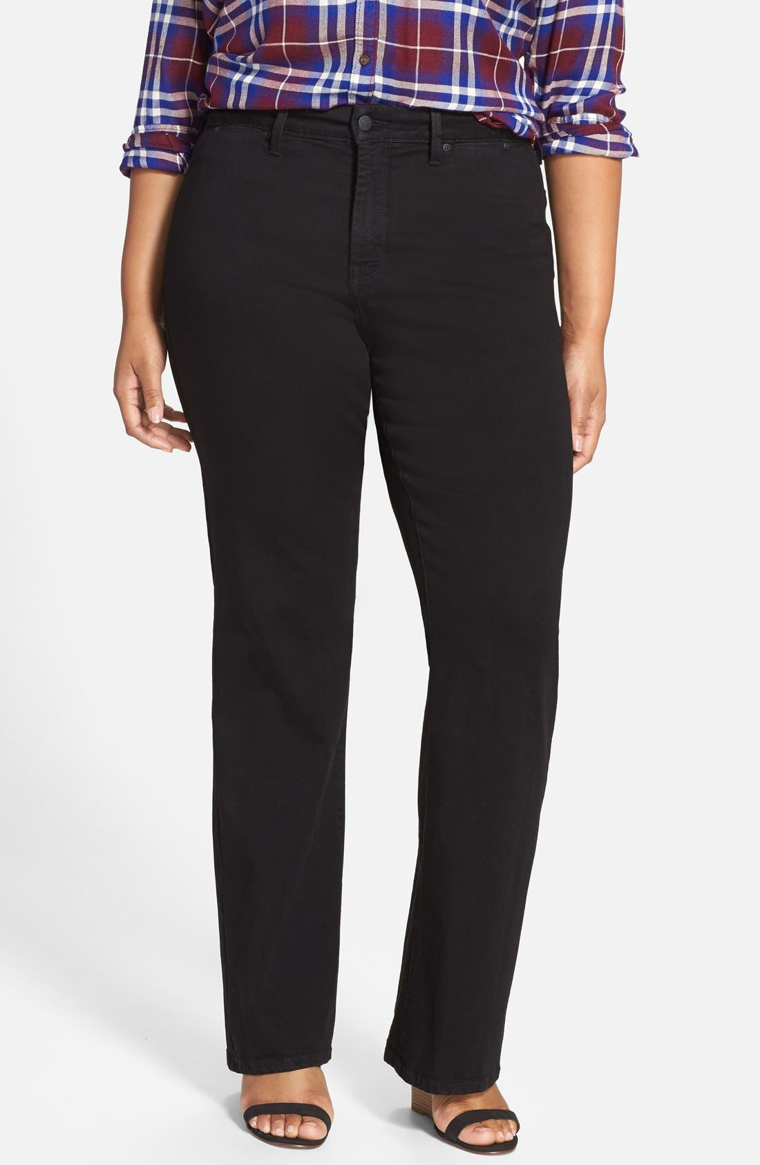 'Isabella' Stretch Trouser Jeans,                             Main thumbnail 1, color,                             001