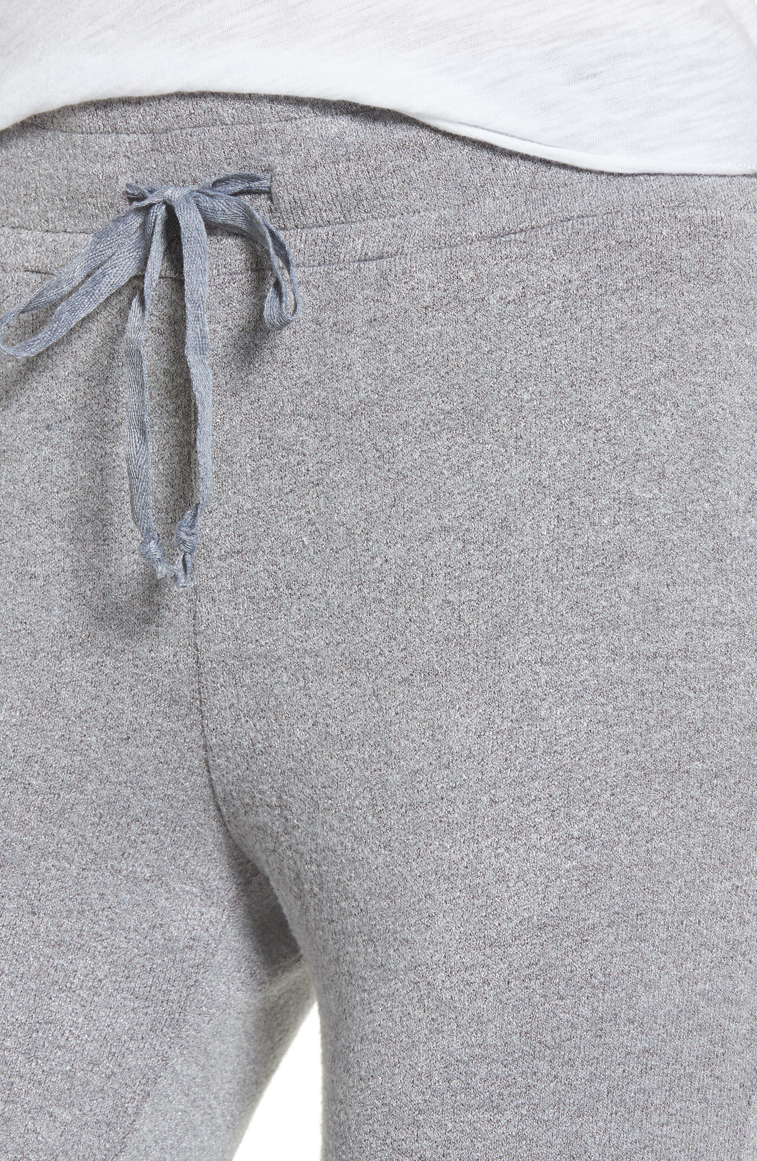Flint Fleece Crop Jogger Pants,                             Alternate thumbnail 8, color,