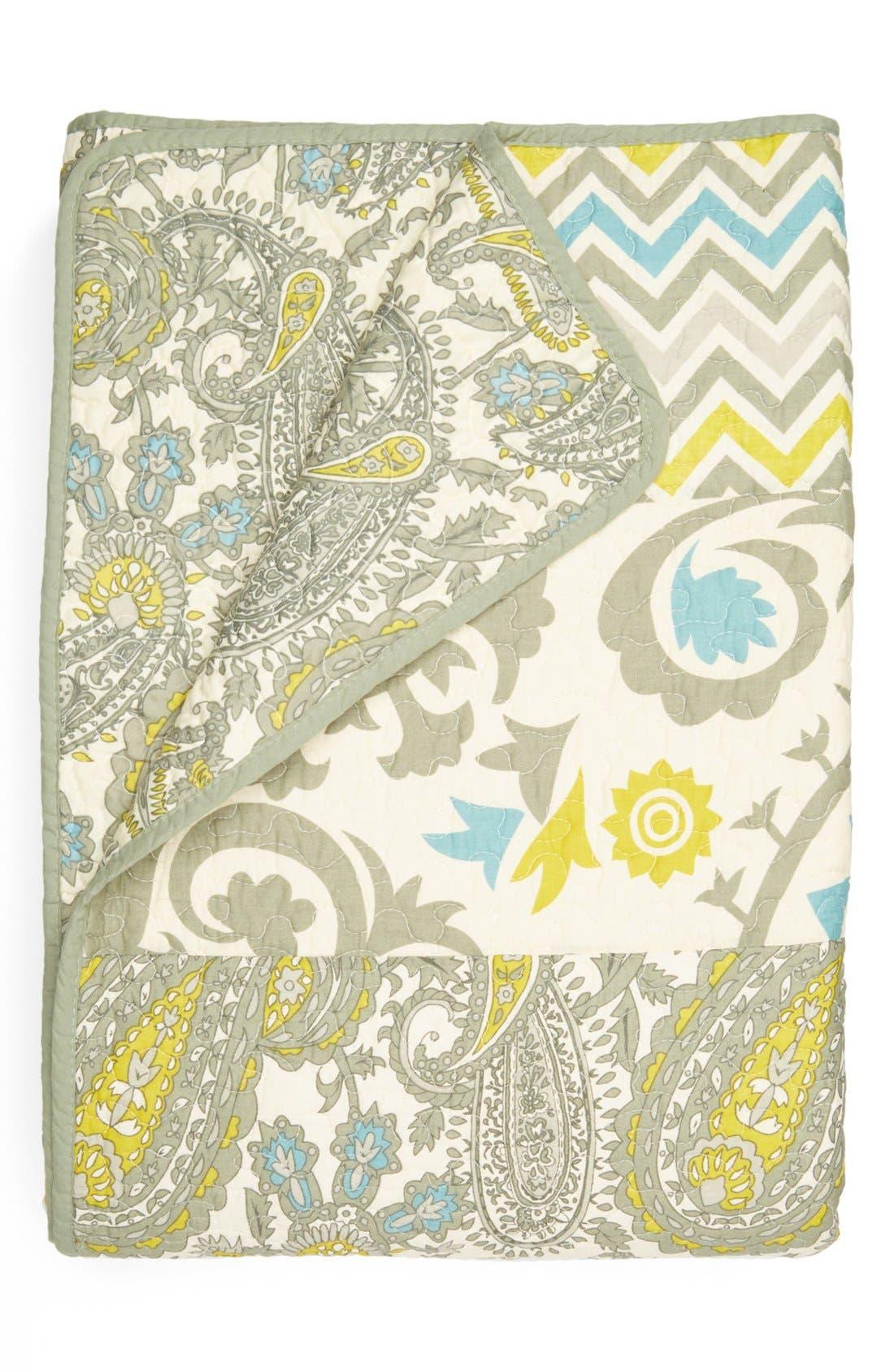 HEDAYA HOME FASHIONS,                             'Verano' Quilt,                             Alternate thumbnail 3, color,                             020