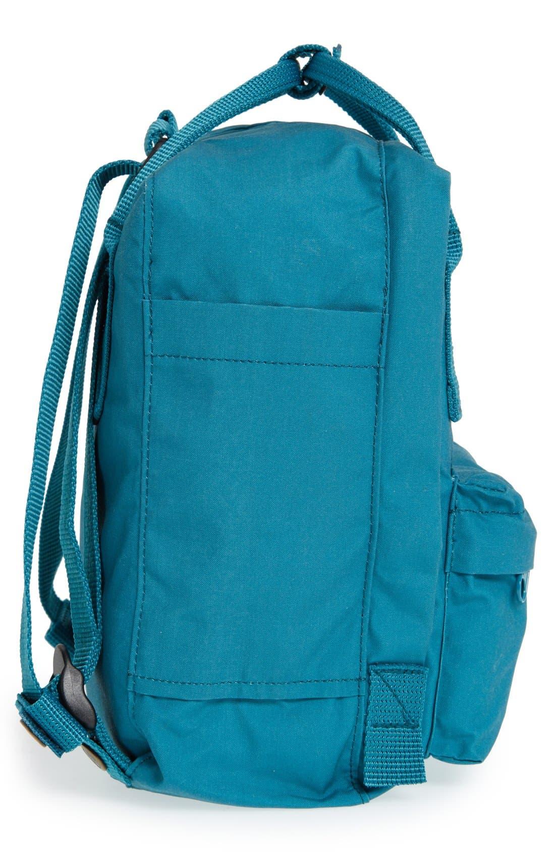 'Mini Kånken' Water Resistant Backpack,                             Alternate thumbnail 6, color,                             OCEAN GREEN