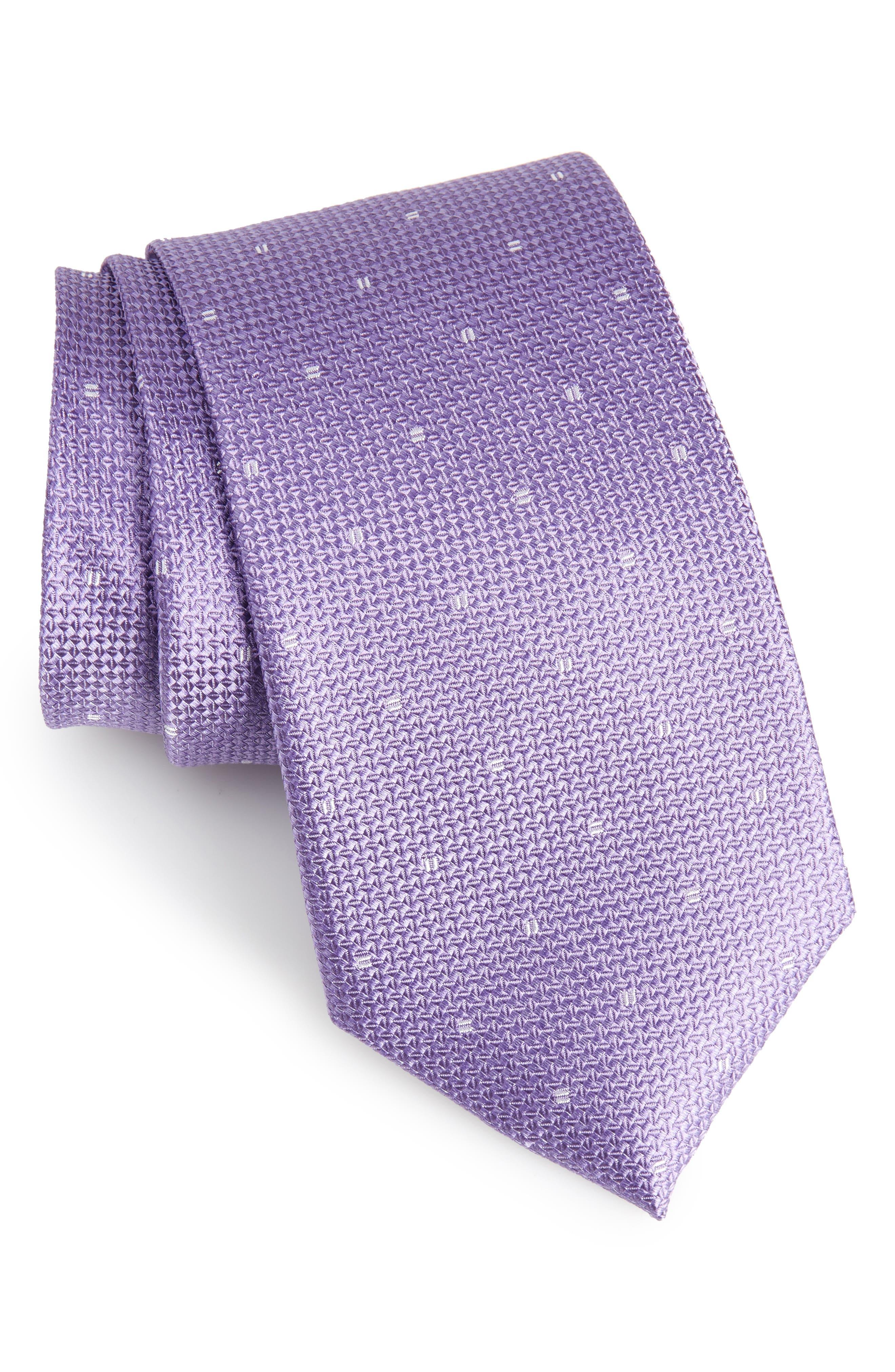 Mulroy Neat Silk Tie,                             Main thumbnail 5, color,