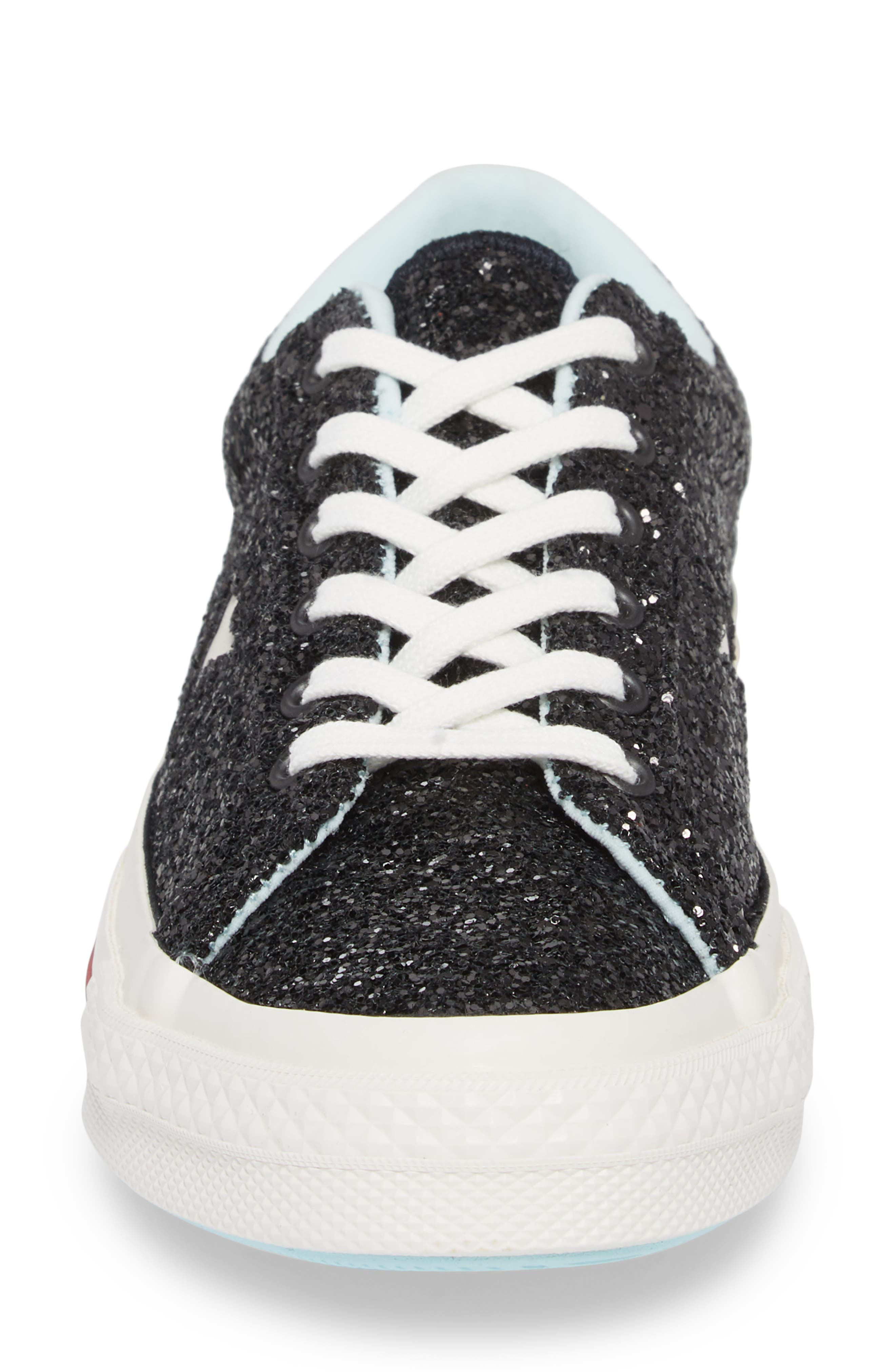 x Chiara Ferragni One Star Ox Sneaker,                             Alternate thumbnail 4, color,                             001