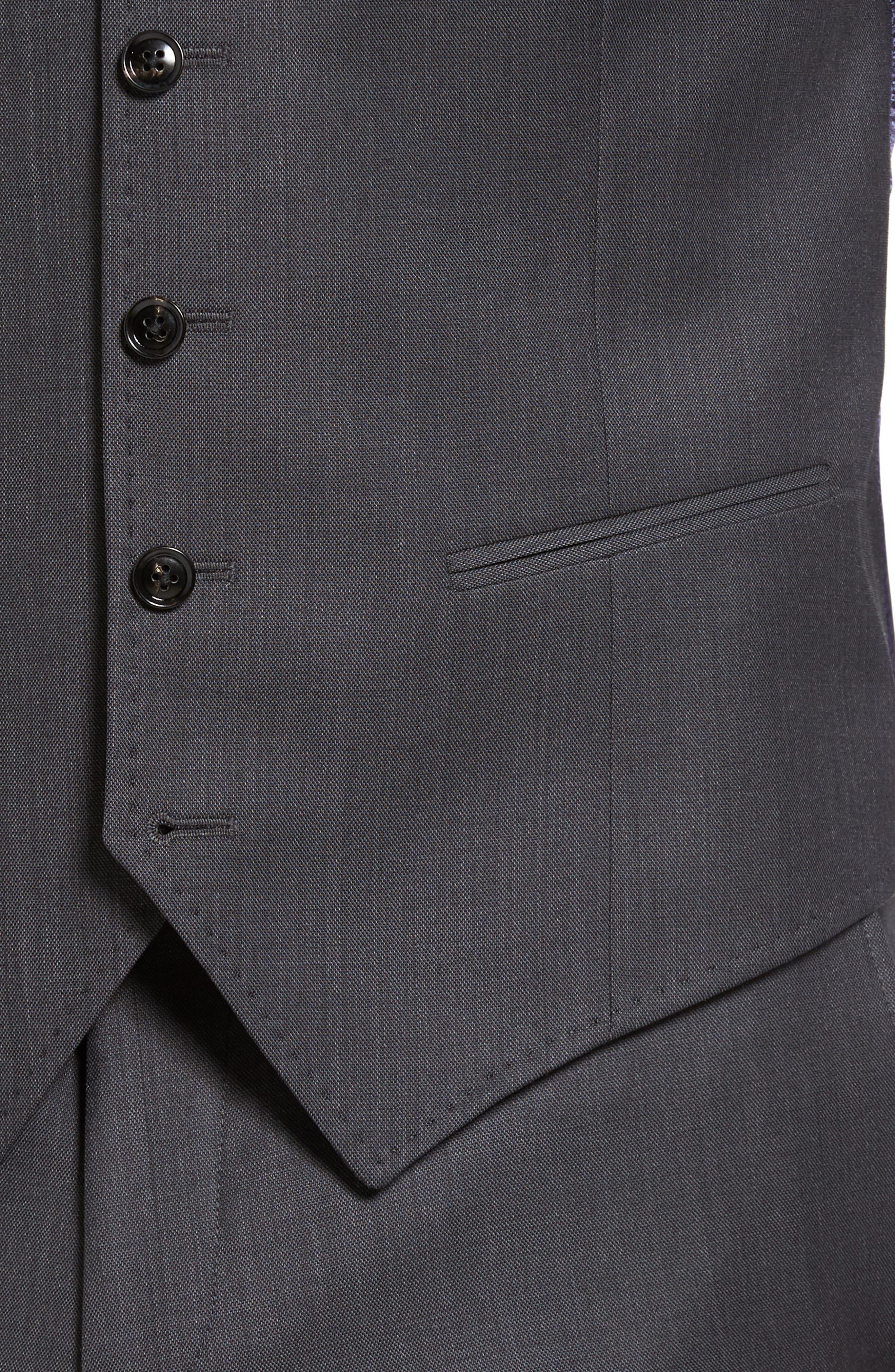 Jones Trim Fit Wool Vest,                             Alternate thumbnail 17, color,