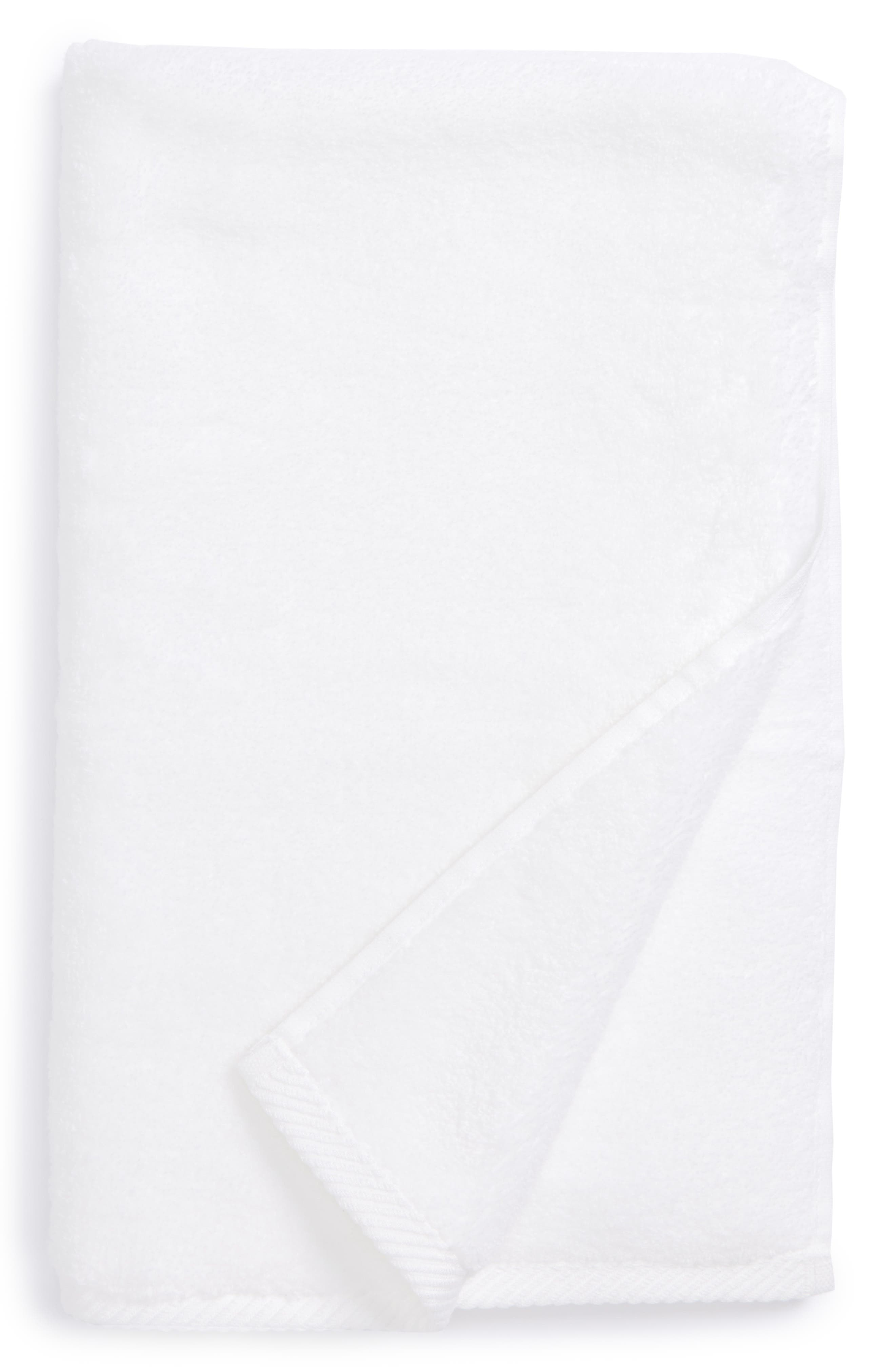 Milagro Hand Towel,                             Main thumbnail 1, color,                             WHITE