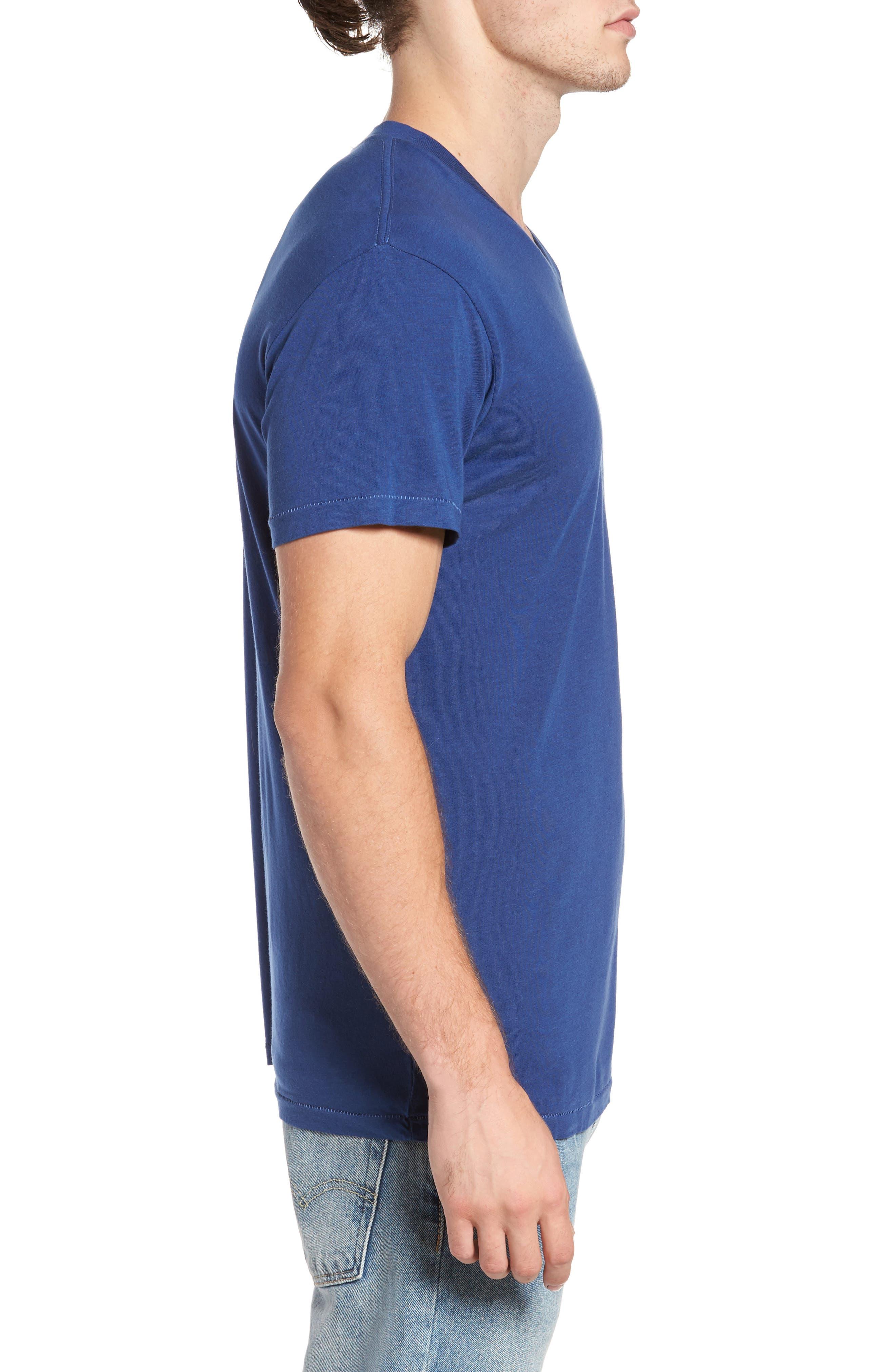 Essential V-Neck T-Shirt,                             Alternate thumbnail 22, color,