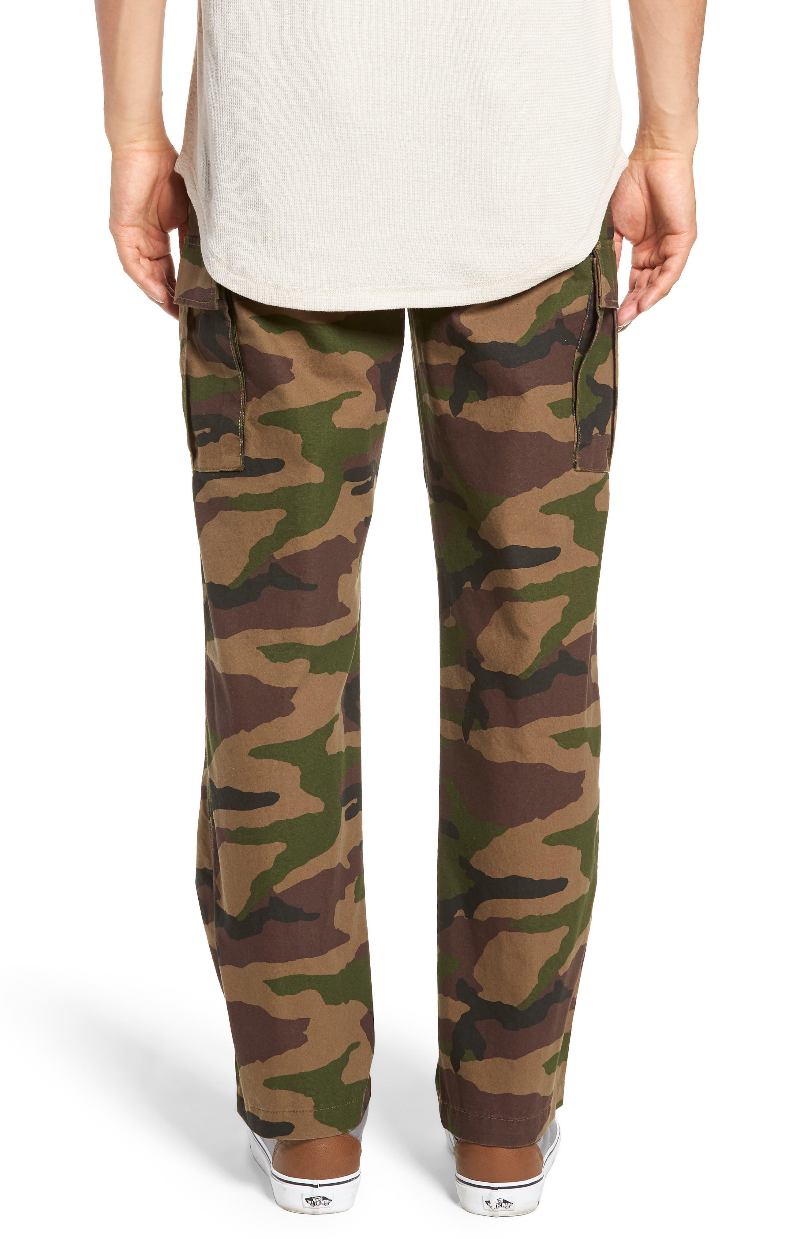 Draft Regular Fit Cargo Pants,                             Alternate thumbnail 2, color,                             CAMO