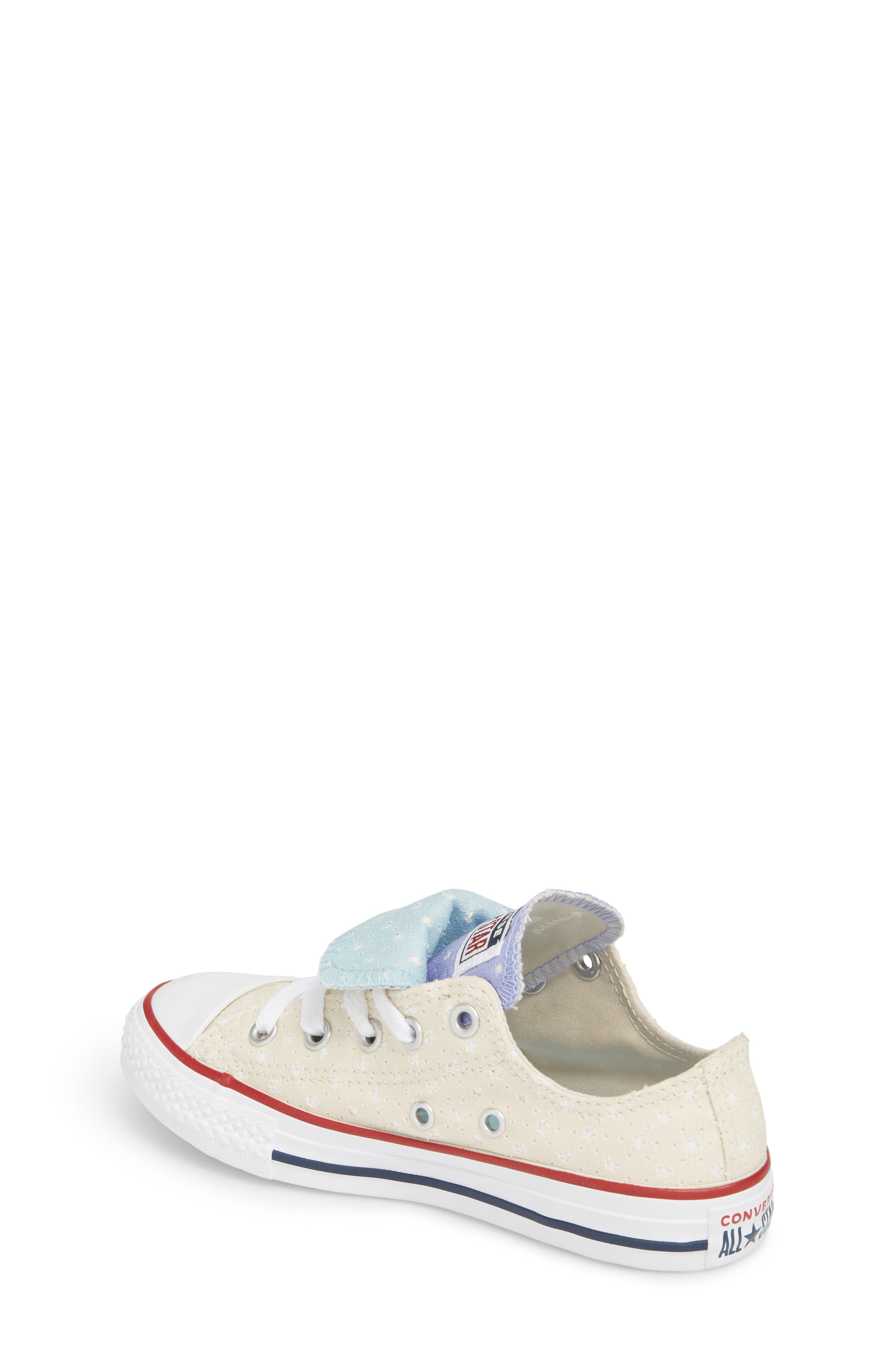 Chuck Taylor<sup>®</sup> All Star<sup>®</sup> Double Tongue Sneaker,                             Alternate thumbnail 6, color,