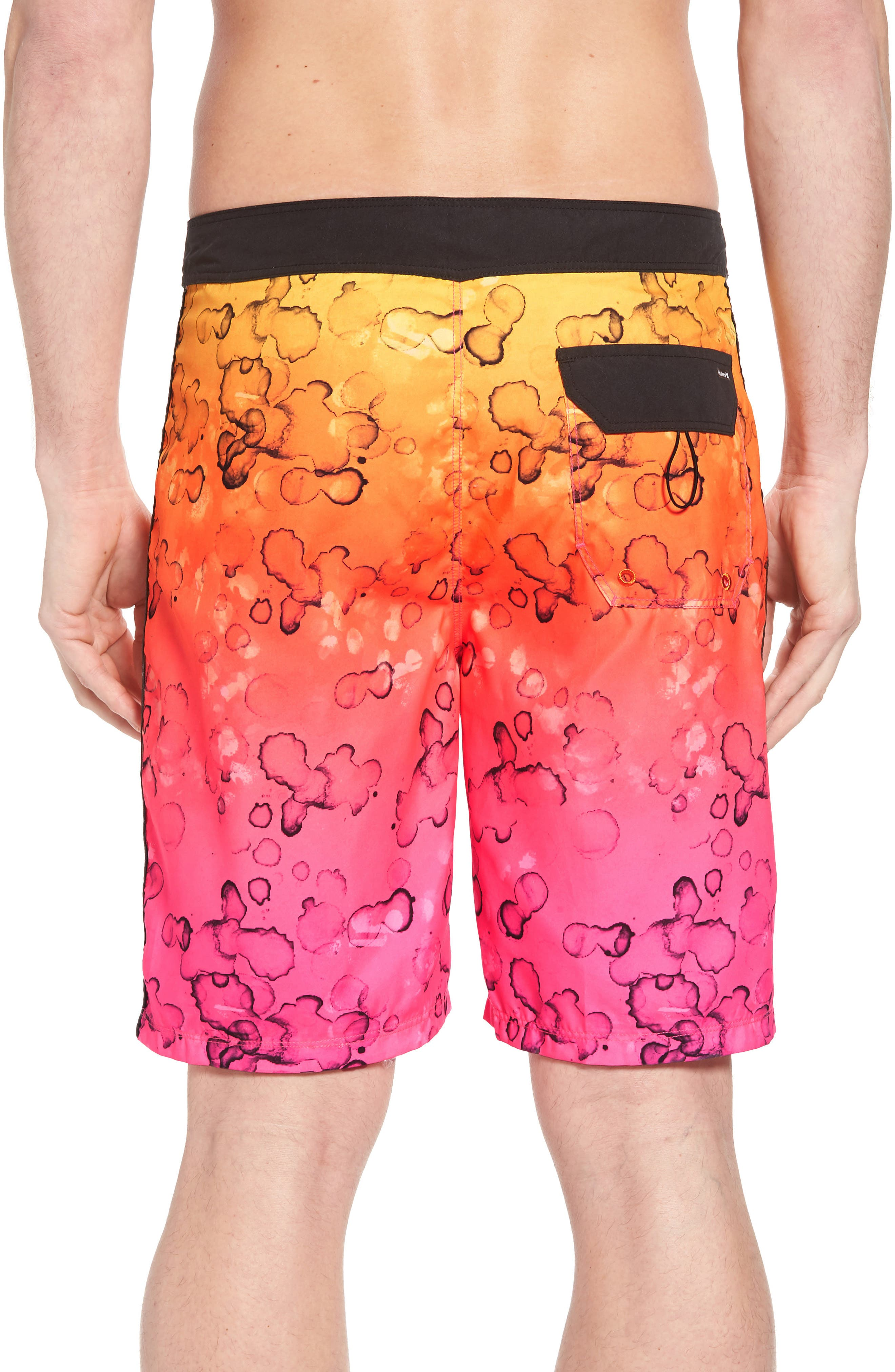 Splatter Grain Board Shorts,                             Alternate thumbnail 2, color,                             682
