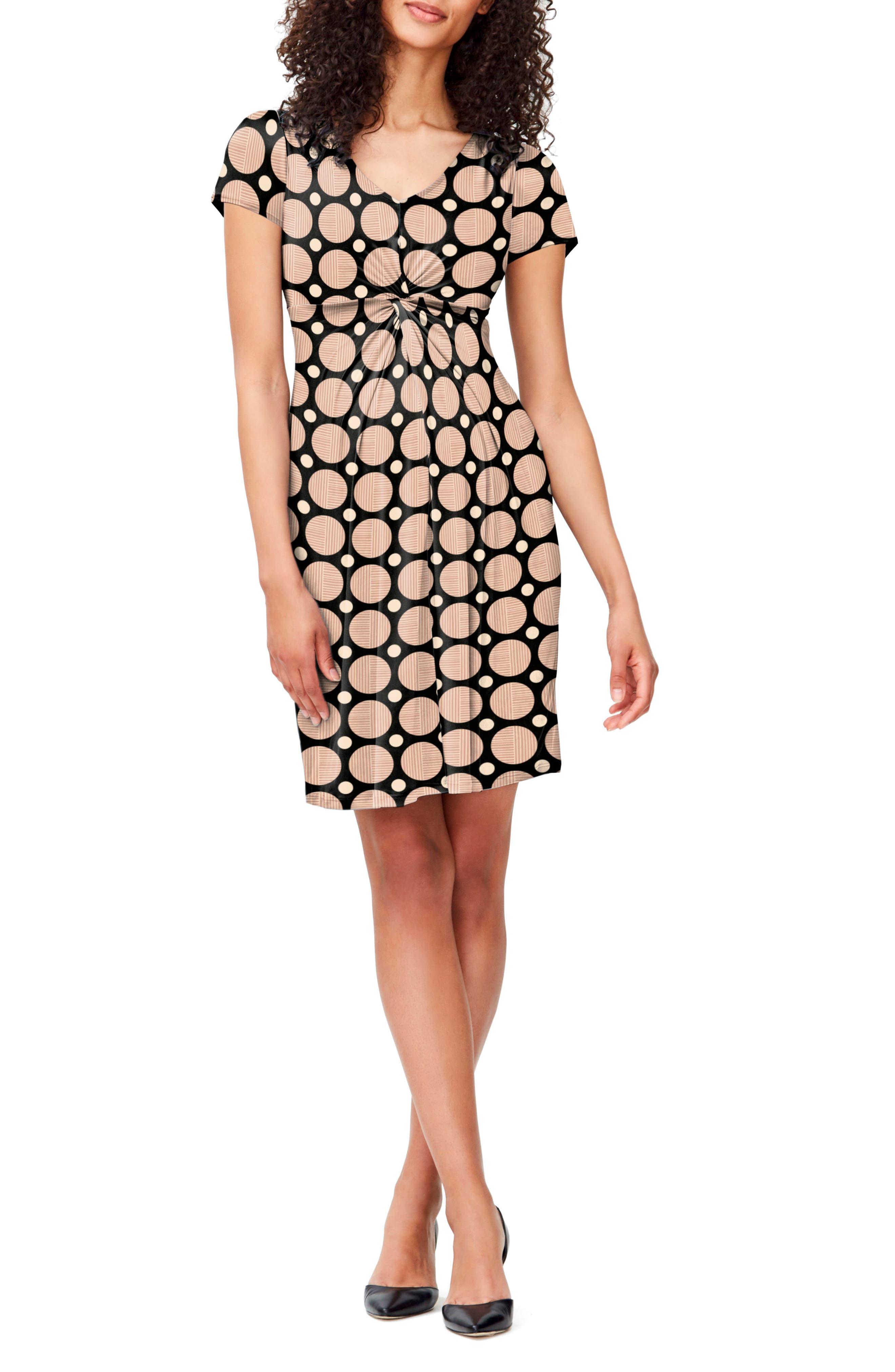 Leota Twist Front Maternity Dress