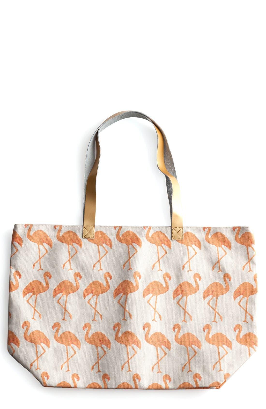 Flamingo Tote,                             Main thumbnail 1, color,                             650