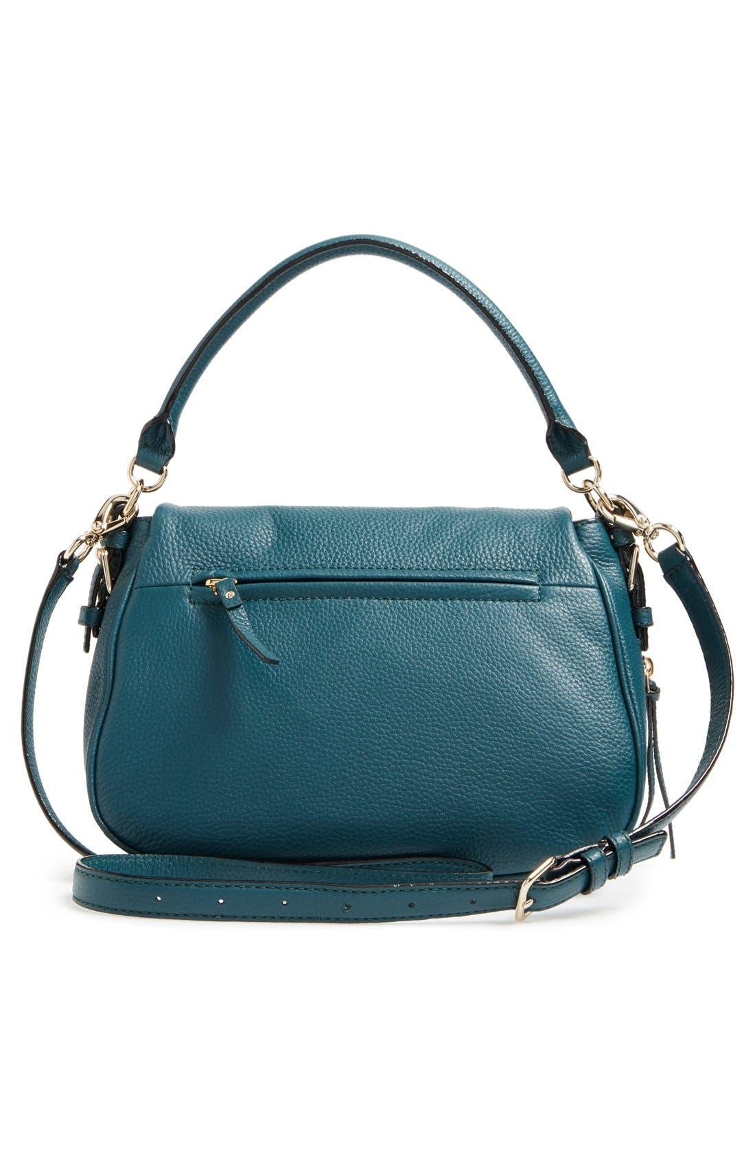 cobble hill - deva leather crossbody bag,                             Alternate thumbnail 21, color,