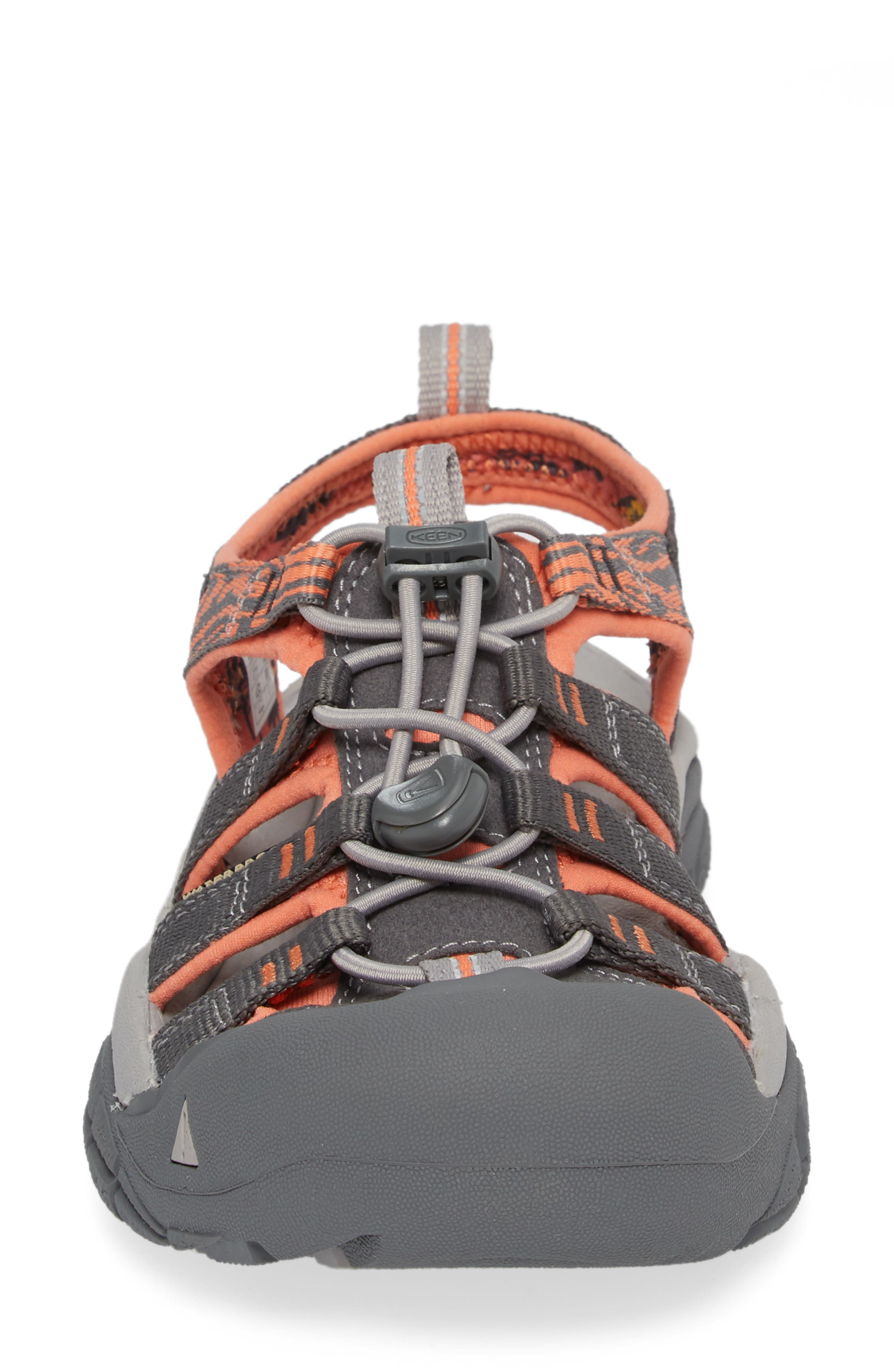 Newport Hydro Sandal,                             Alternate thumbnail 4, color,                             MAGNET/ CORAL