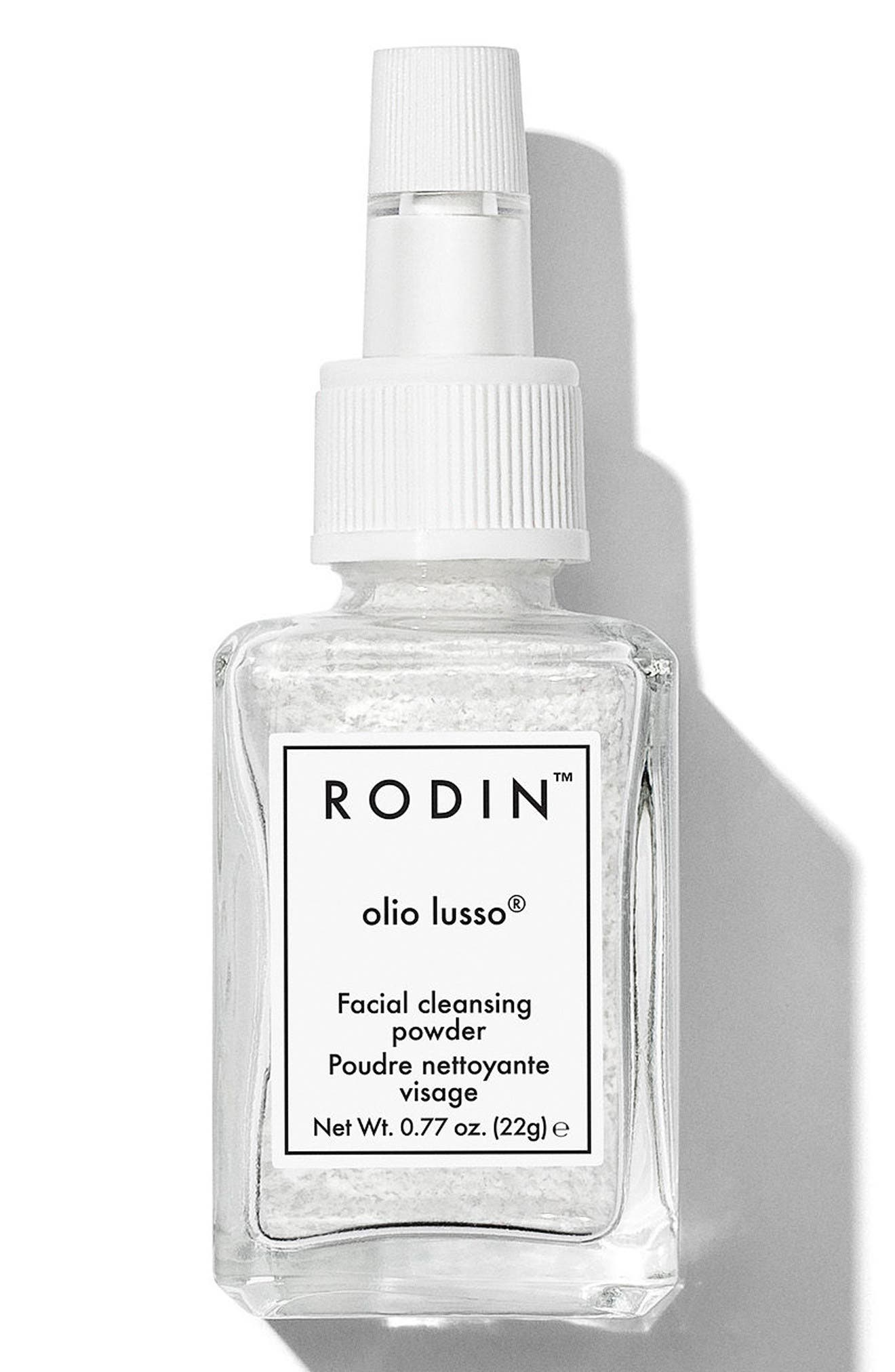 RODIN OLIO LUSSO Facial Cleansing Powder, Main, color, NO COLOR