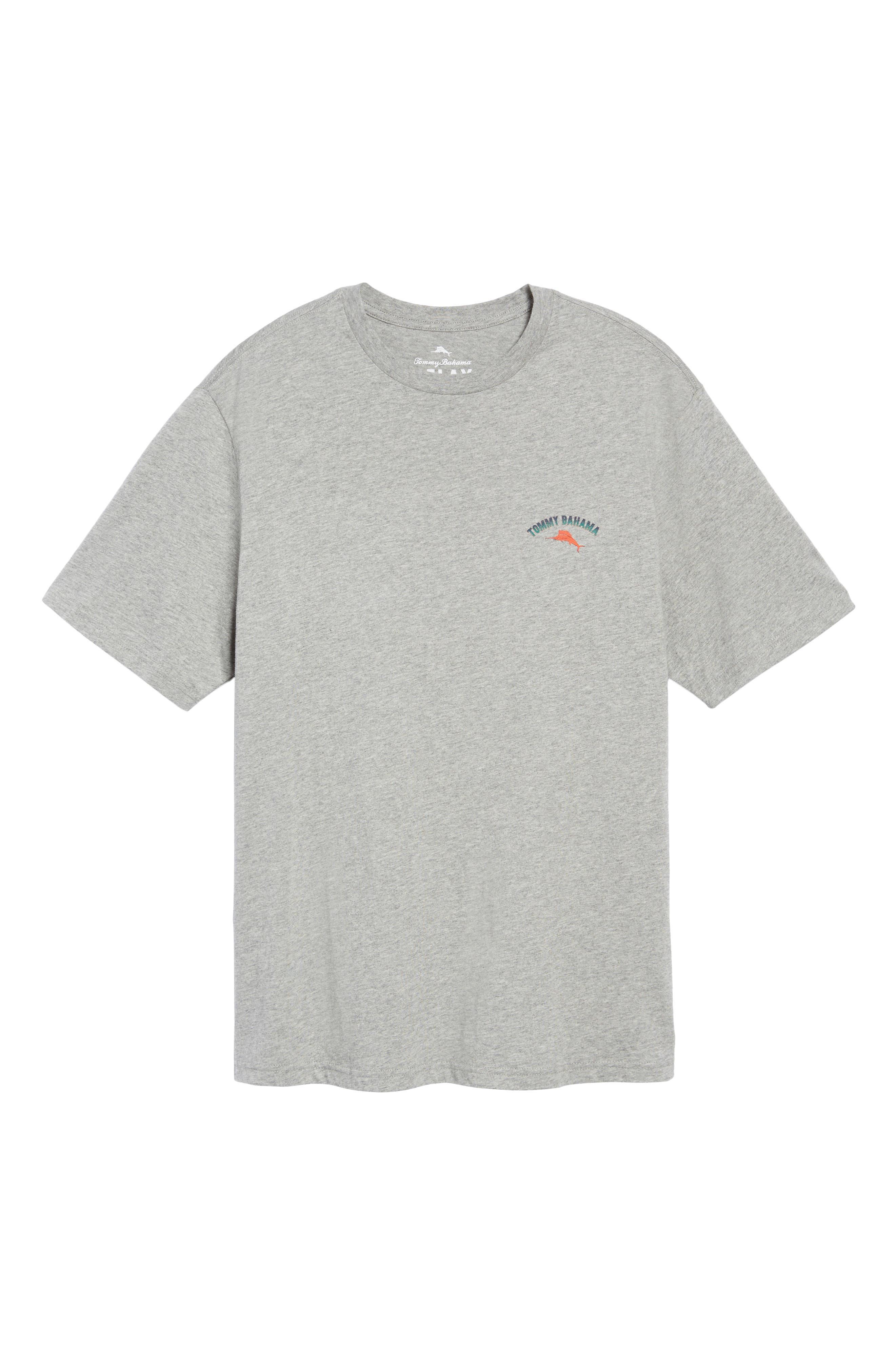 Outside Limebacker Standard Fit T-Shirt,                             Alternate thumbnail 6, color,                             051