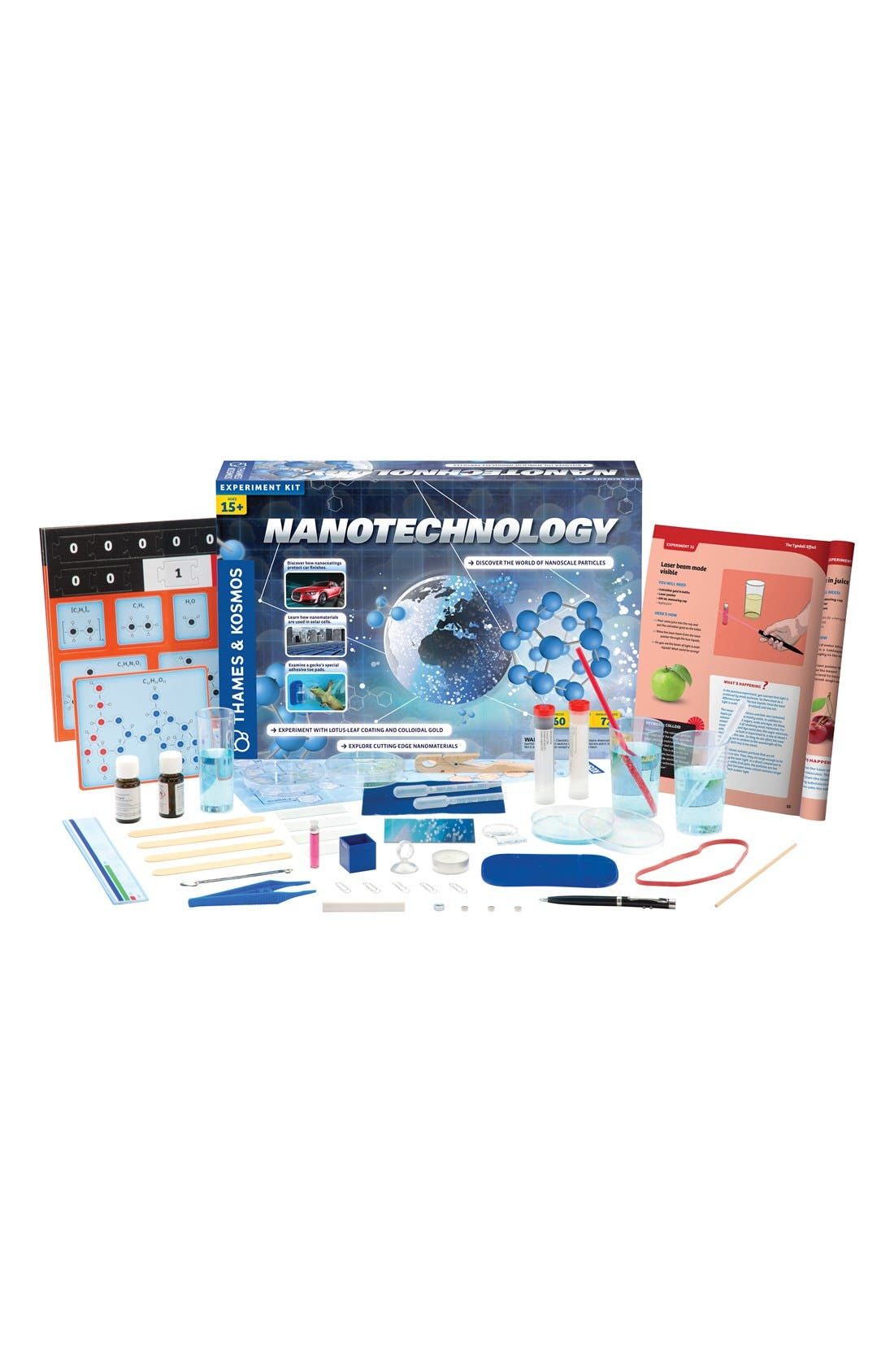 'Nanotechnology' Experiment Kit,                             Alternate thumbnail 3, color,                             BLUE