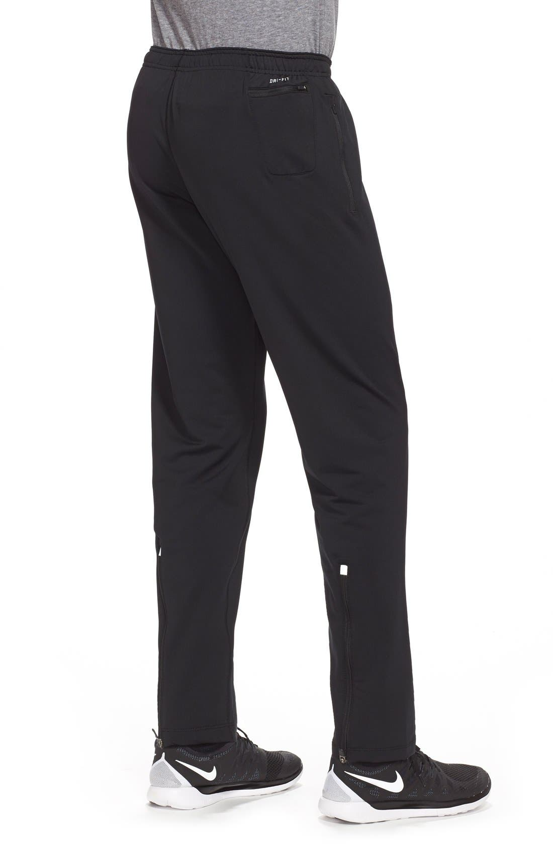 'Y20' Tapered Fit Dri-FIT Running Stretch Pants,                             Alternate thumbnail 2, color,                             010
