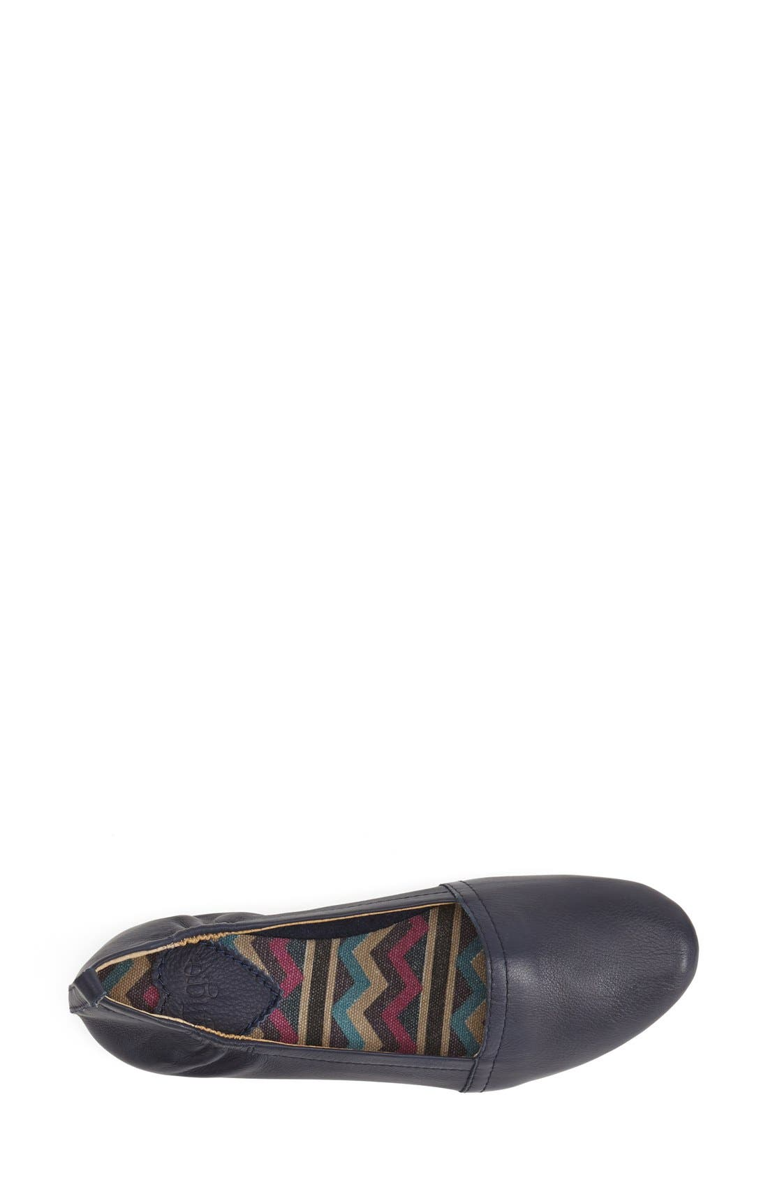 'Bettie' Leather Flat,                             Alternate thumbnail 15, color,