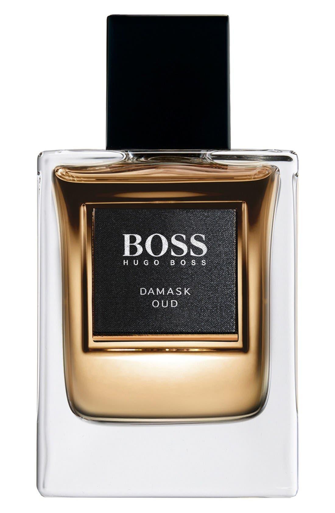 BOSS 'The Collection - Damask Oud' Eau de Toilette,                             Main thumbnail 1, color,                             000