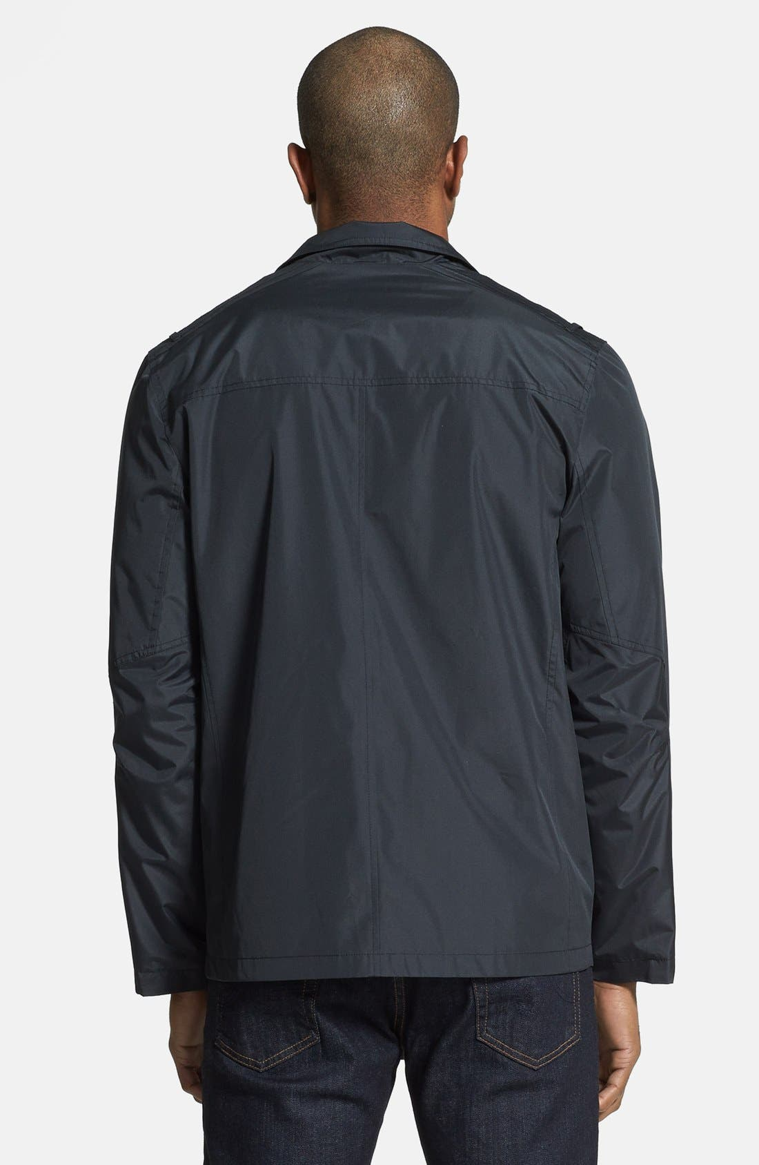 ANDREW MARC,                             'Robert' Water Resistant Jacket,                             Alternate thumbnail 6, color,                             001