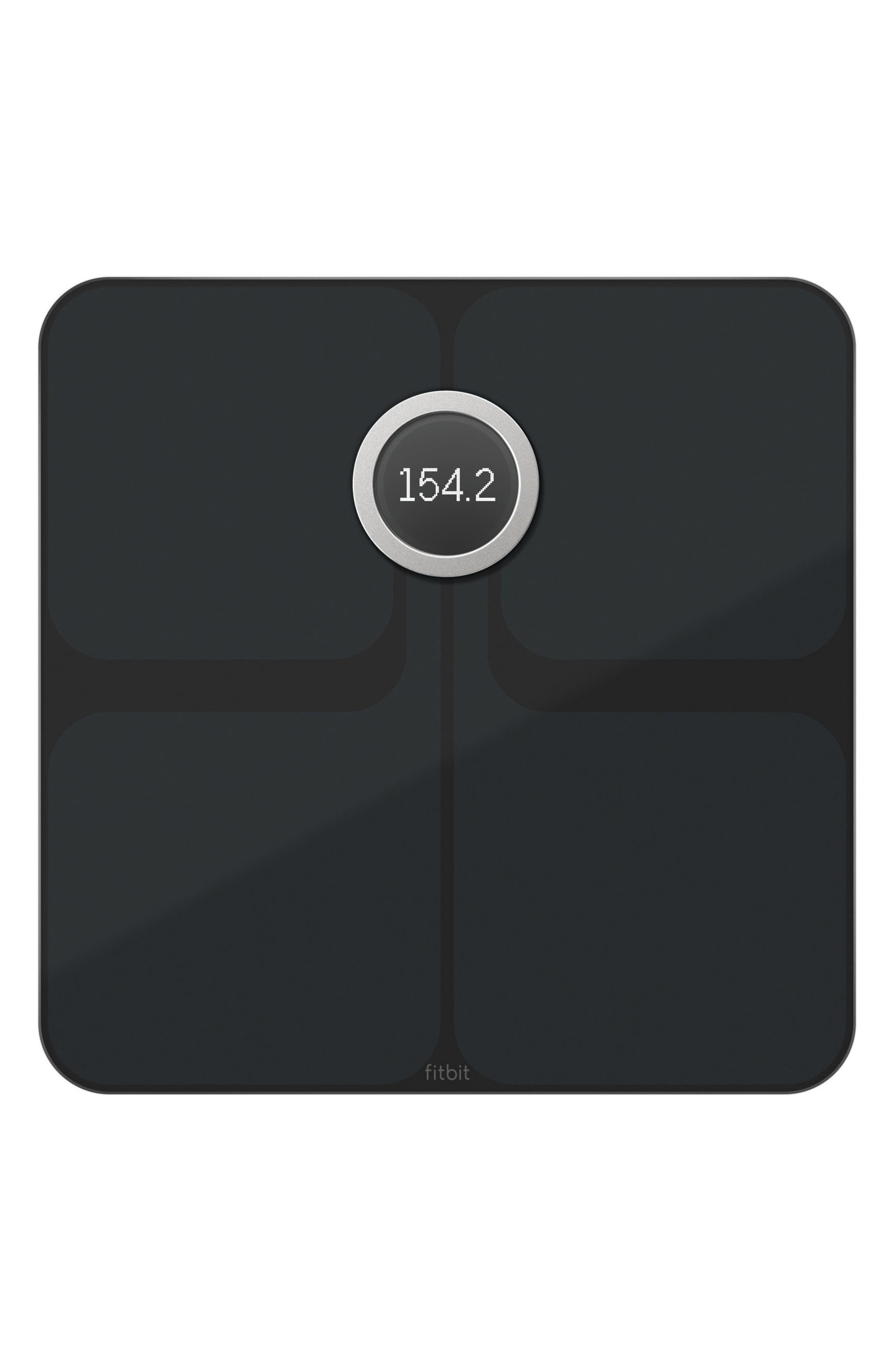 Aria 2 Wireless Smart Scale,                         Main,                         color, BLACK