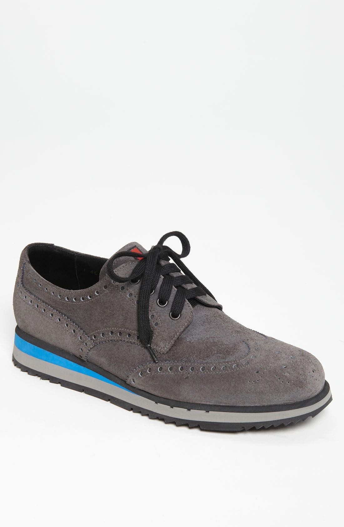Wingtip Sneaker, Main, color, 020